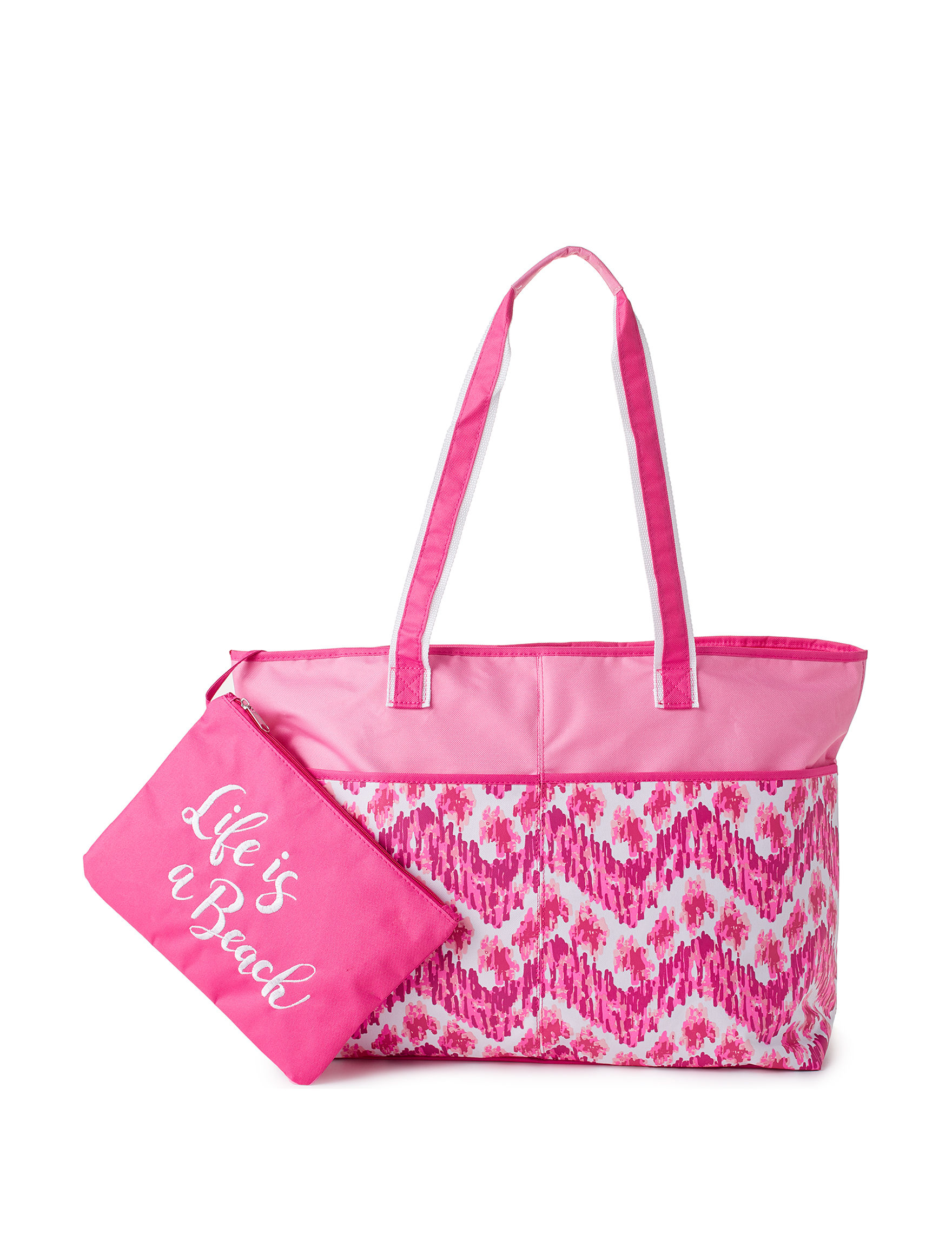 Life is a Beach Multi Travel Totes