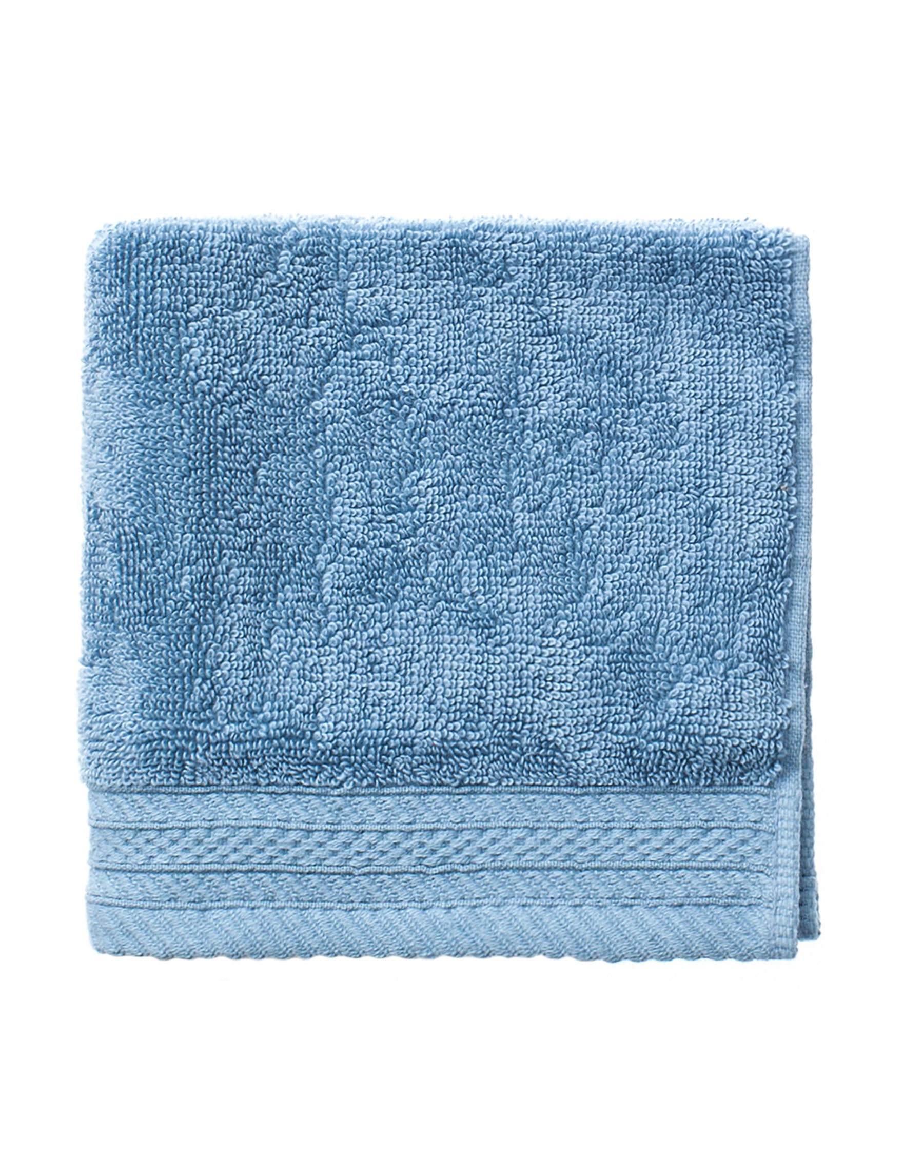 Great Hotels Collection Slate Blue Washcloths Towels