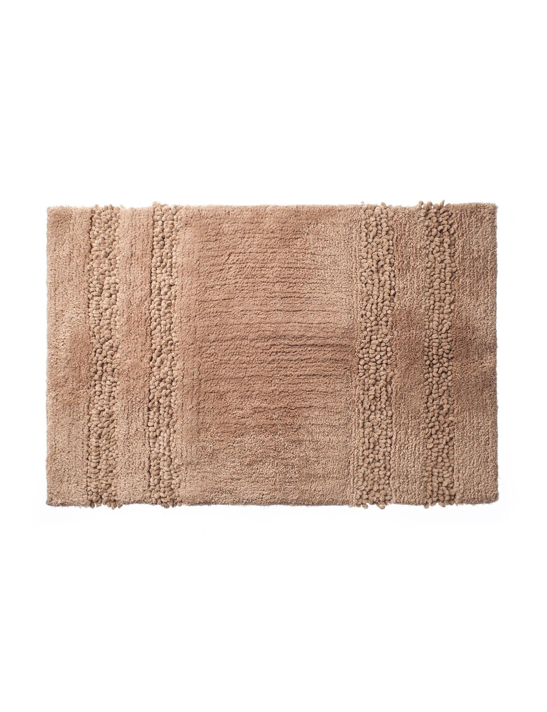 Great Hotels Collection Coffee Bath Rugs & Mats