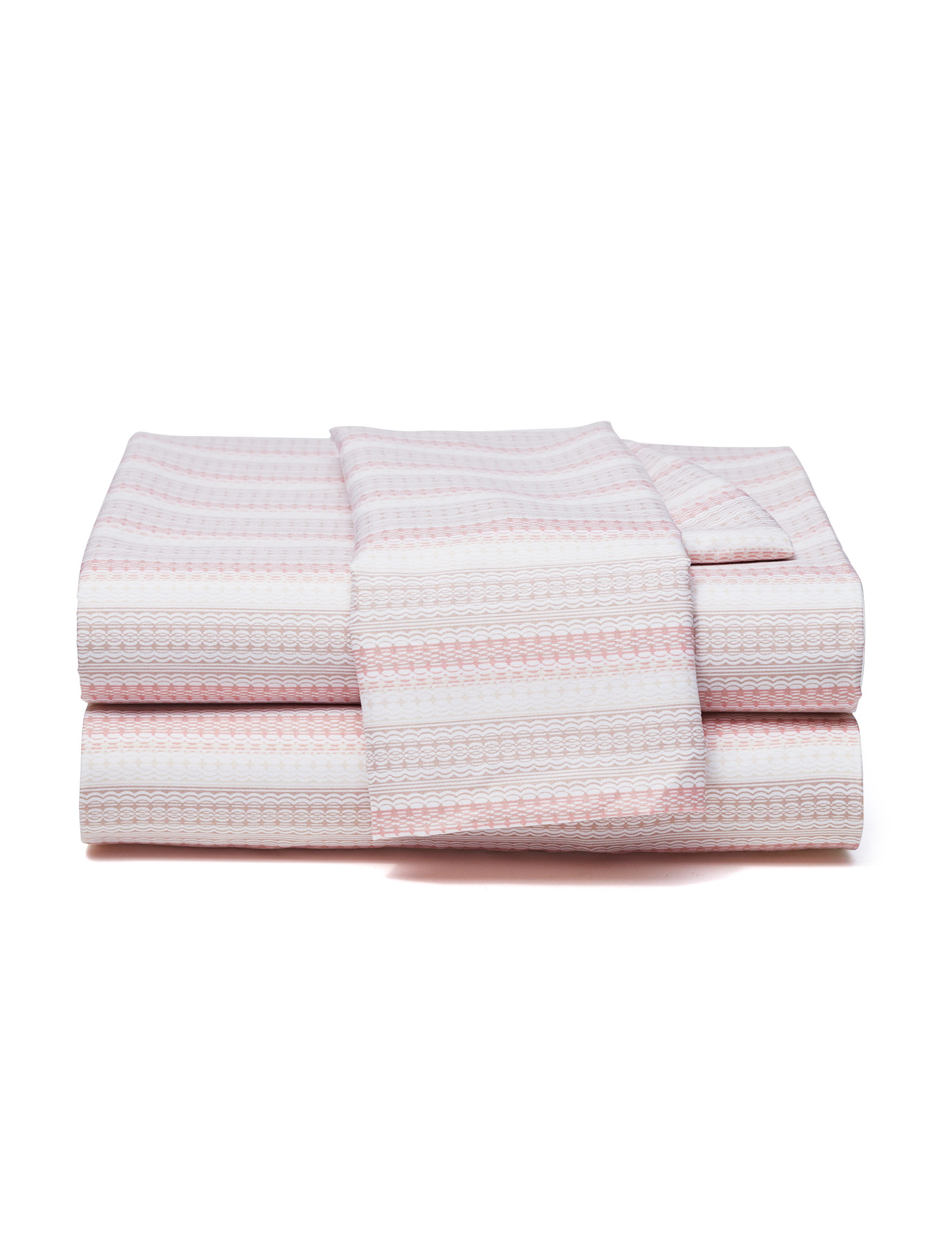Great Hotels Collection Pink Stripe Sheets