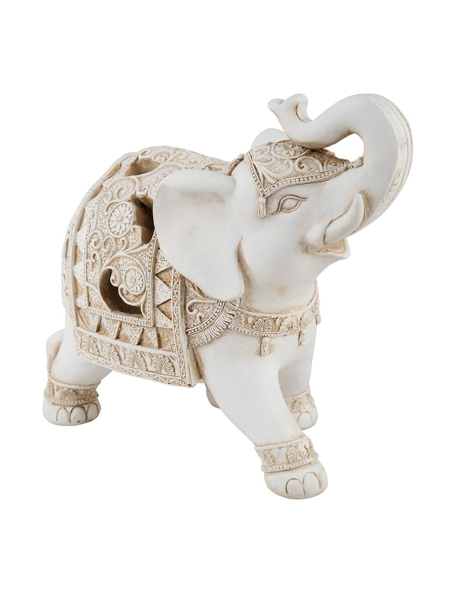 Home Essentials Ivory Decorative Objects Home Accents