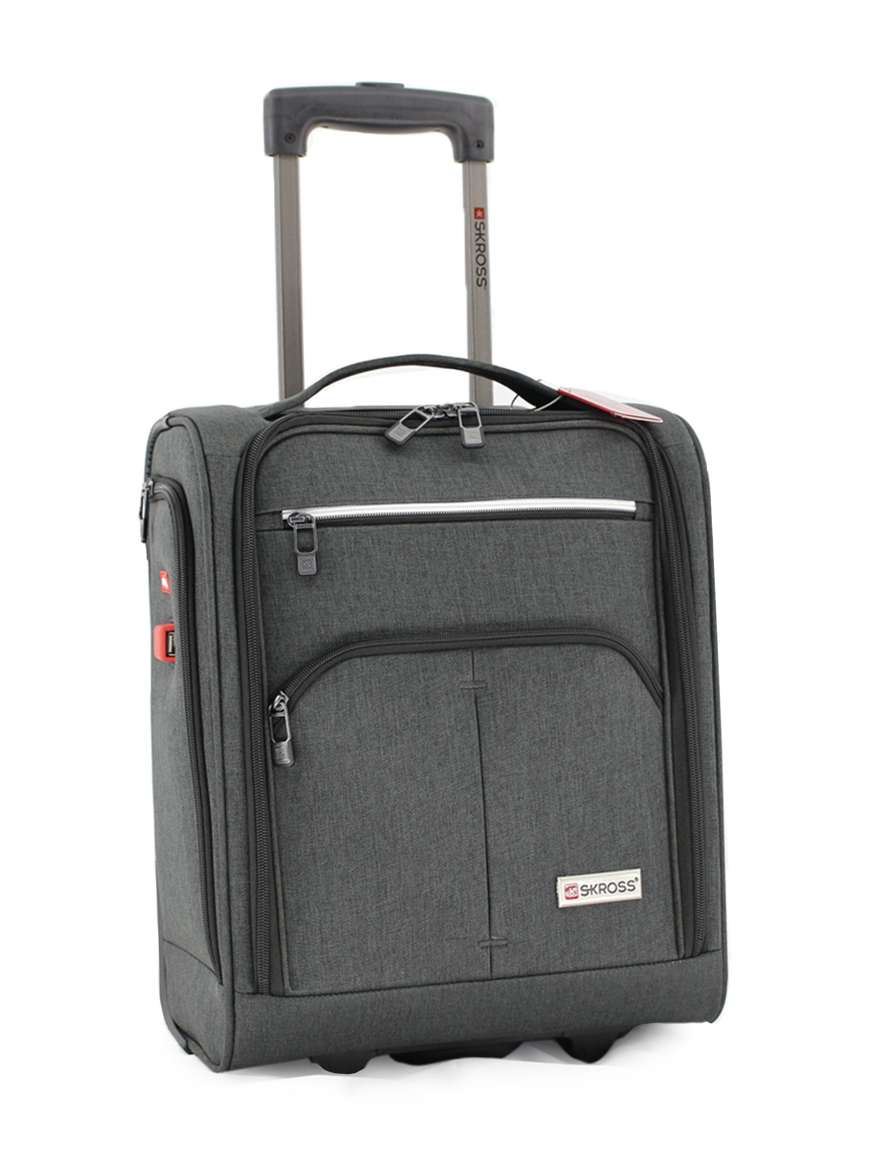 S-Kross Grey Softside Carry On Luggage