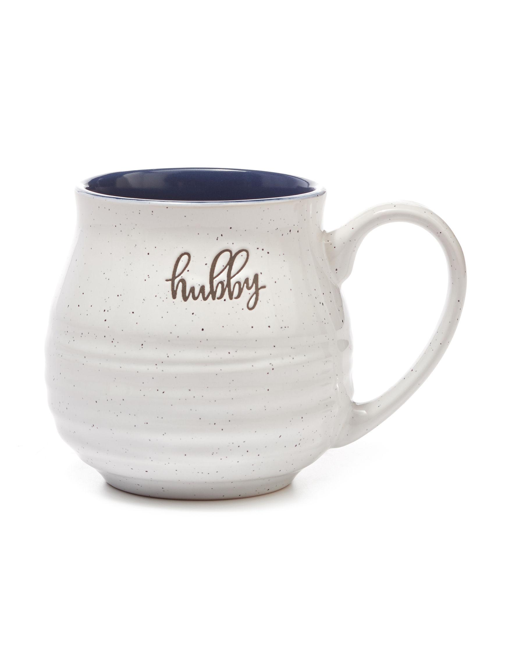 Enchante Grey / Black Mugs Drinkware