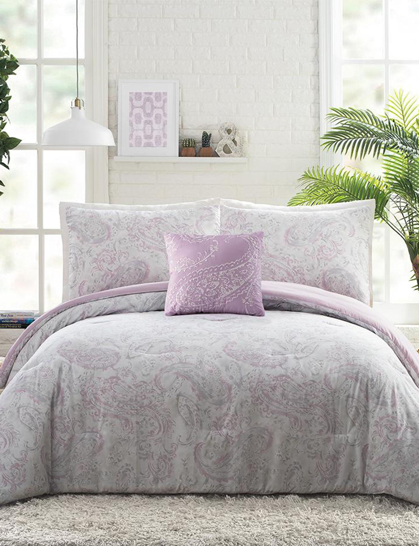 Jessica Simpson Purple Multi Comforters & Comforter Sets