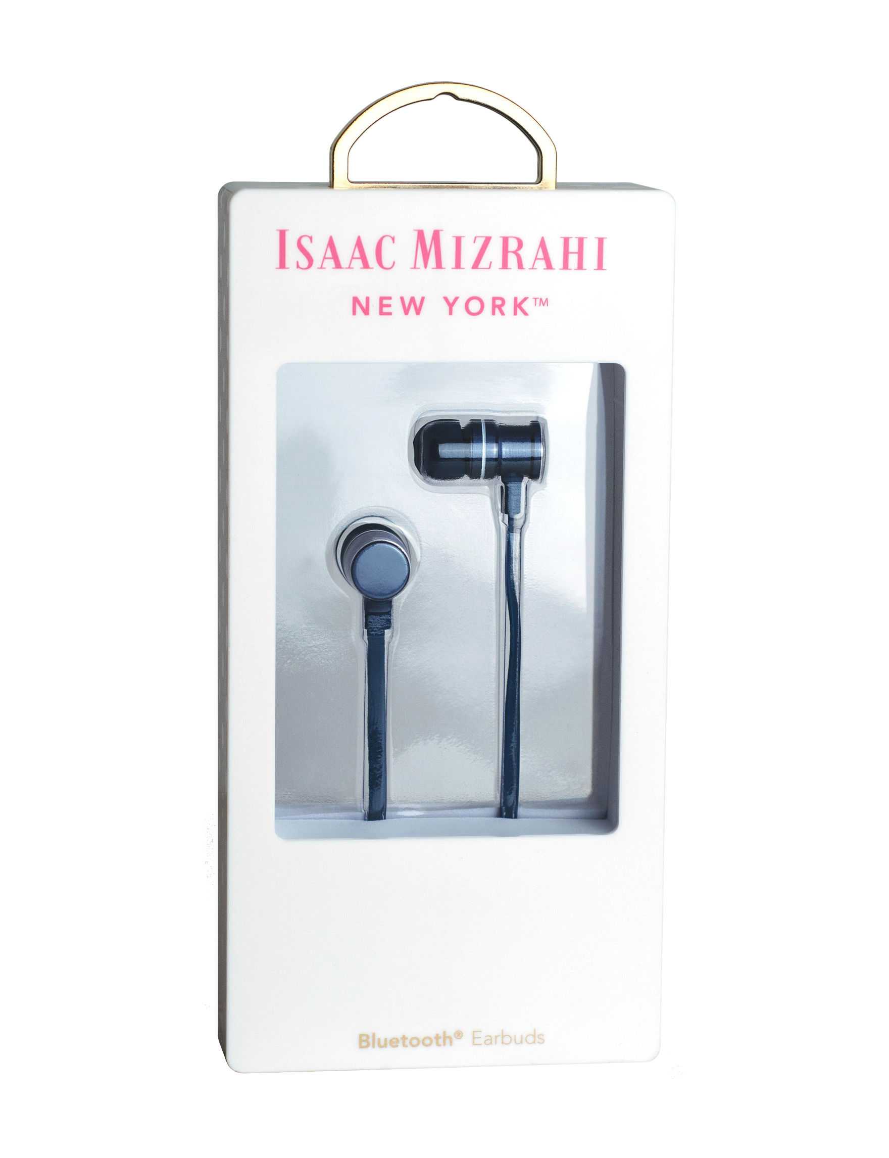 Isaac Mizrahi Blue Headphones Home & Portable Audio Tech Accessories