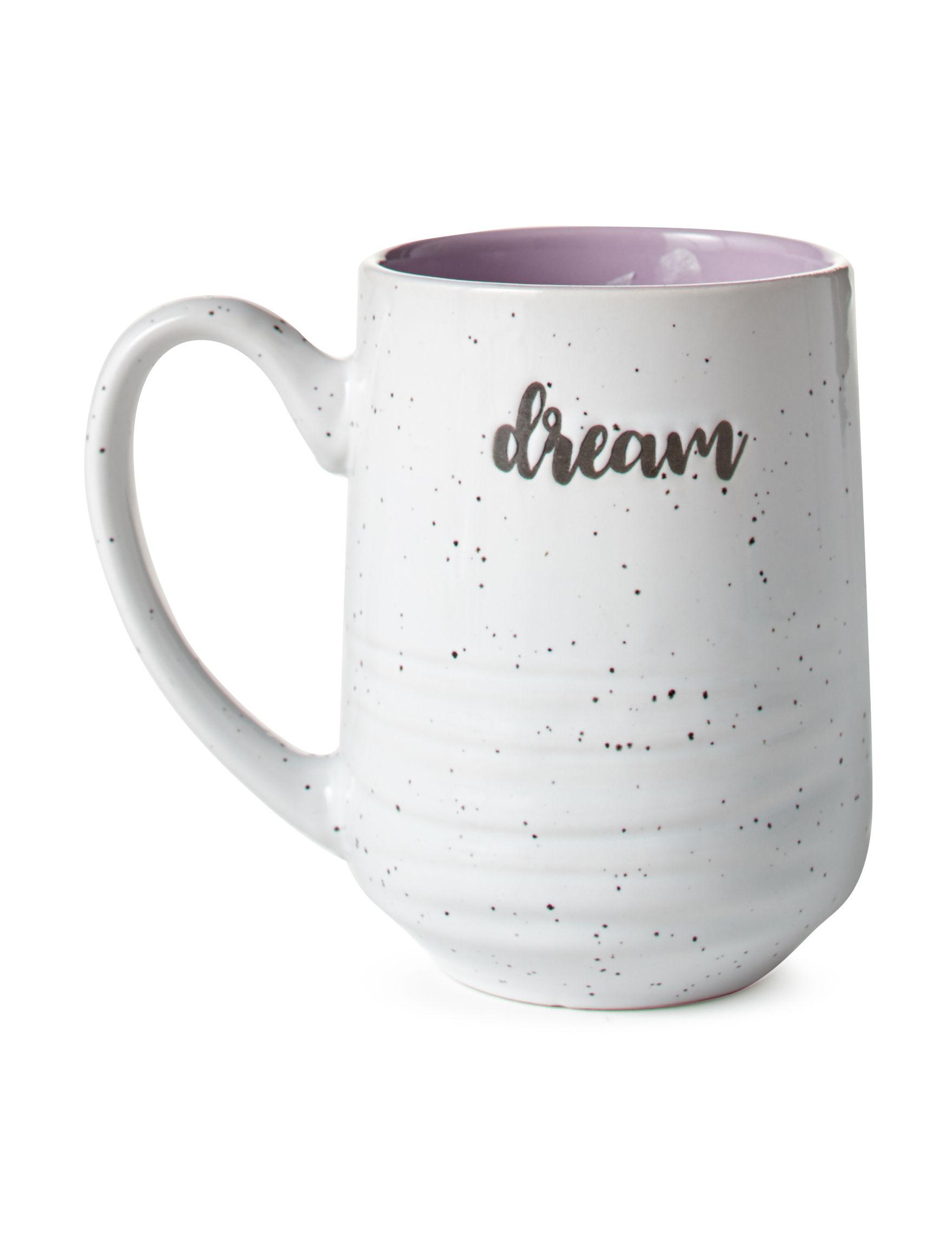Sheffield Home White / Purple Mugs Drinkware