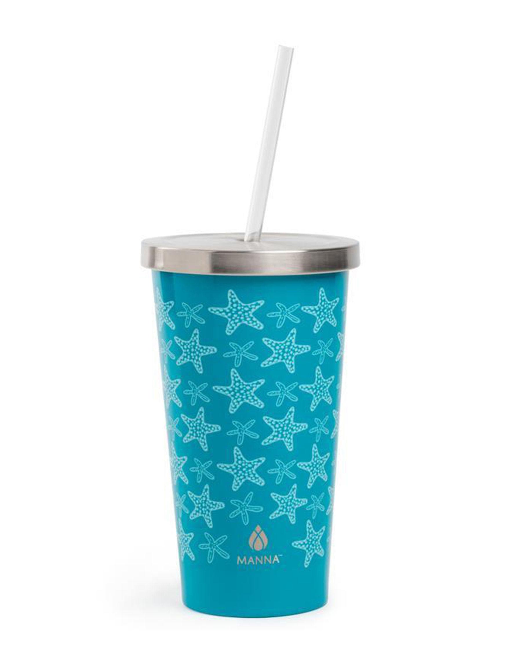 Core Home Blue / White Tumblers Drinkware