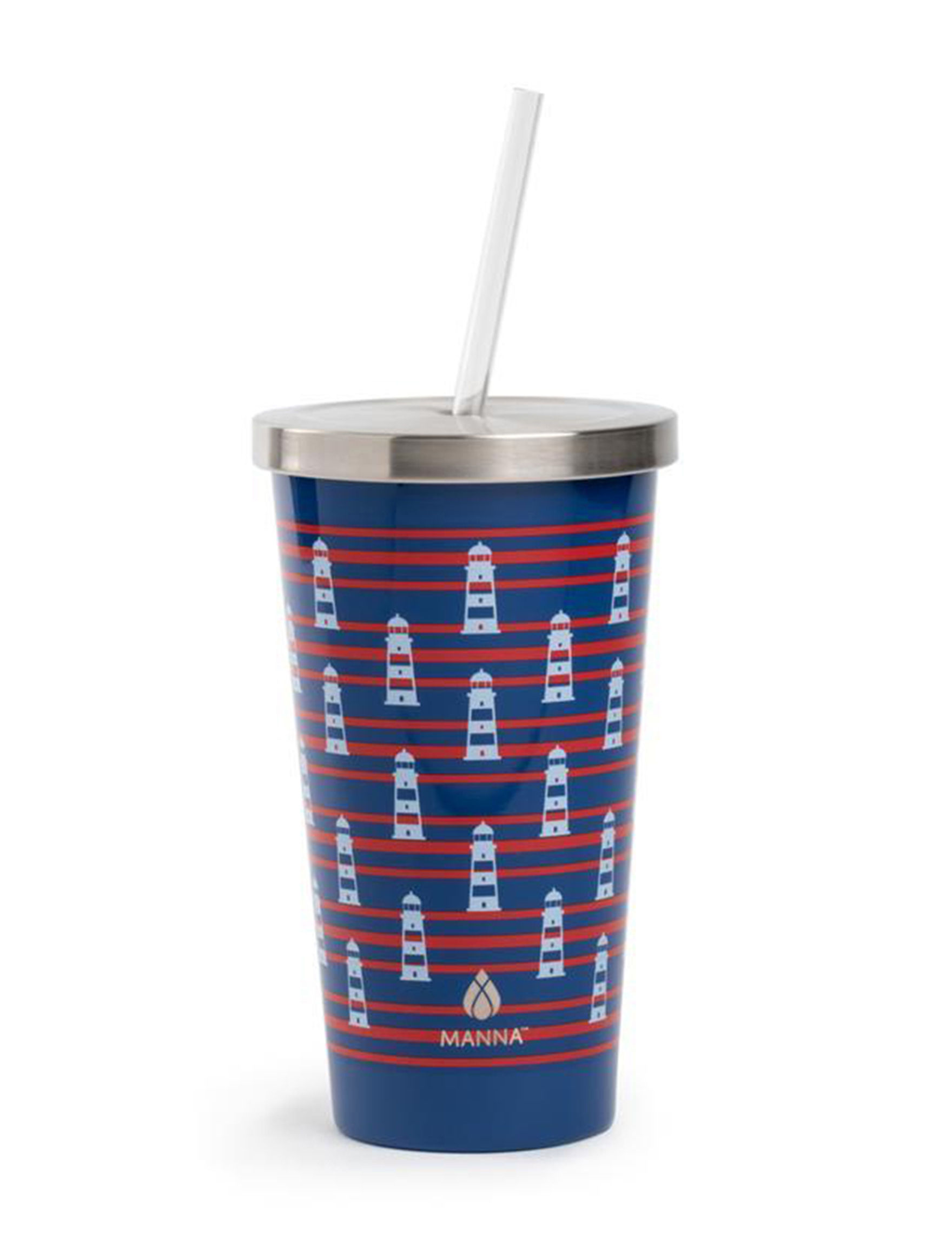 Core Home Navy / Red / White Tumblers Drinkware