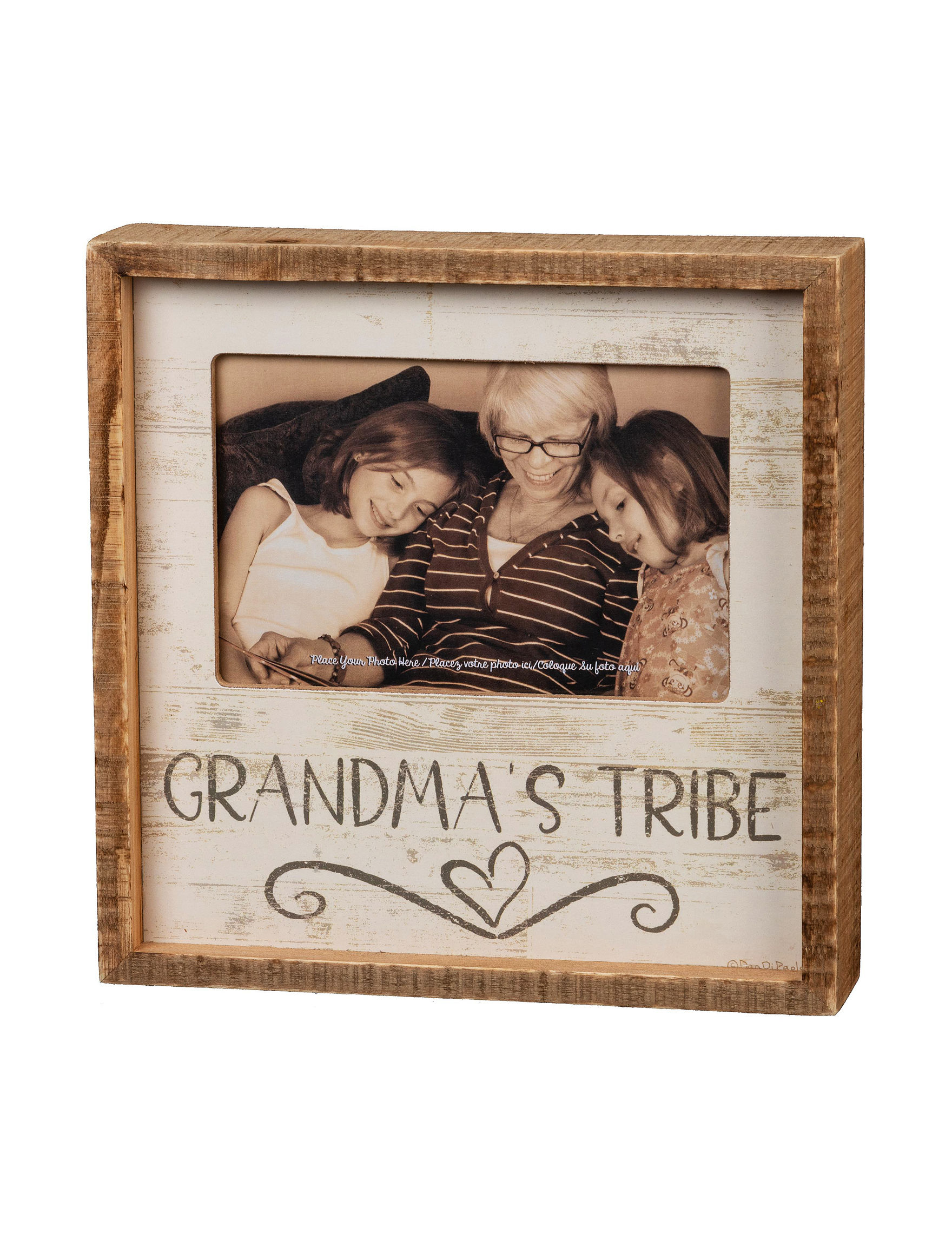 Primitives by Kathy Beige Decorative Objects Frames & Shadow Boxes