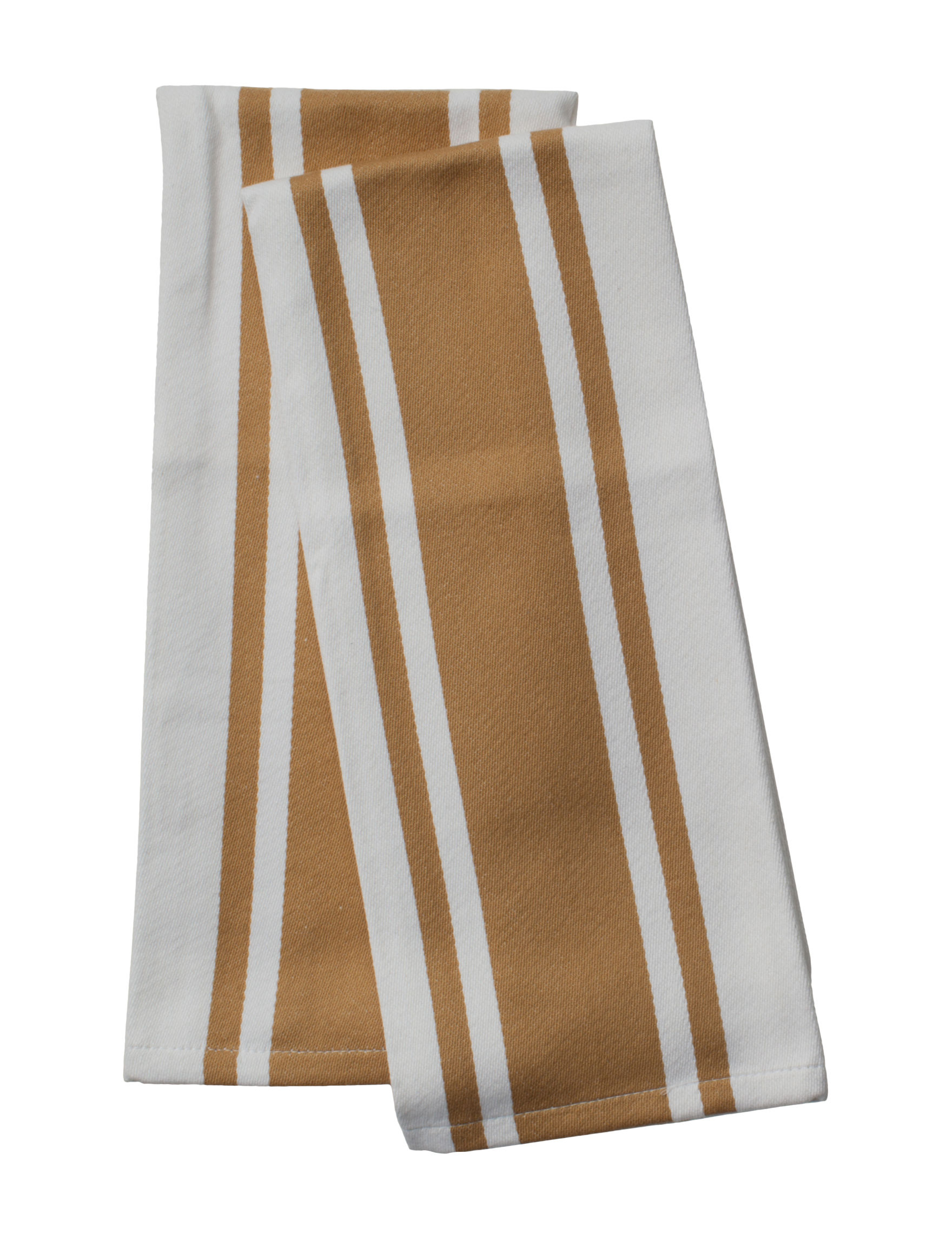 Pantry Brown / White Dish Towels Kitchen Linens