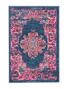 Nourison Blue / Pink Accent Rugs Area Rugs Rugs
