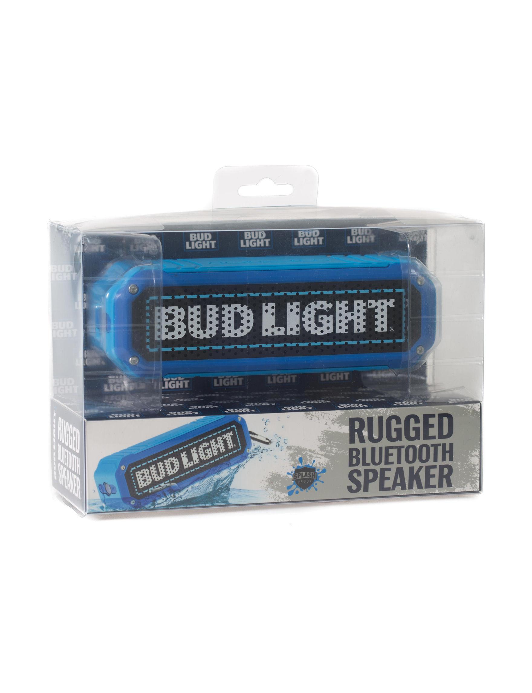 Bud Light Blue / Black Speakers & Docks Home & Portable Audio