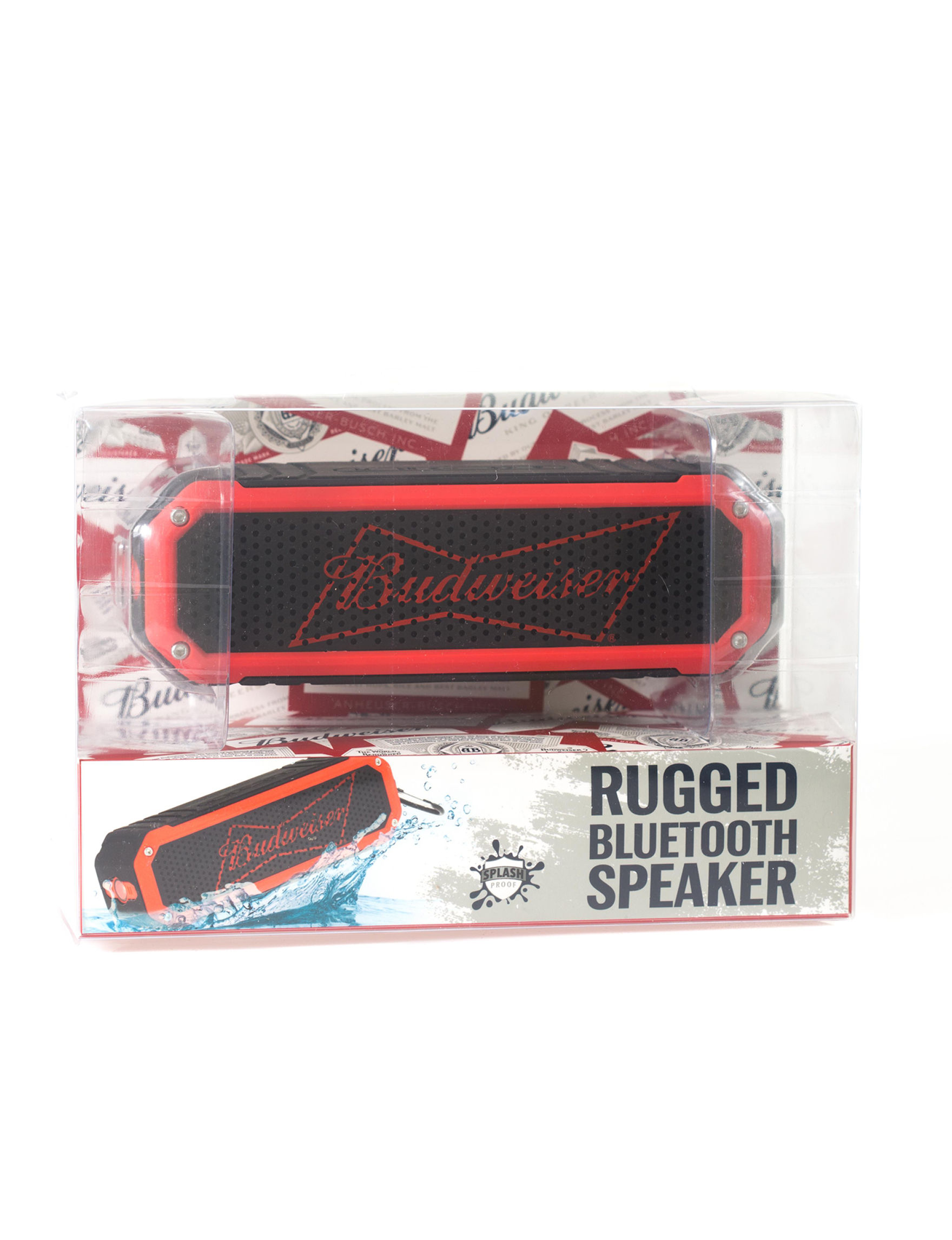 Budweiser Red Speakers & Docks Home & Portable Audio
