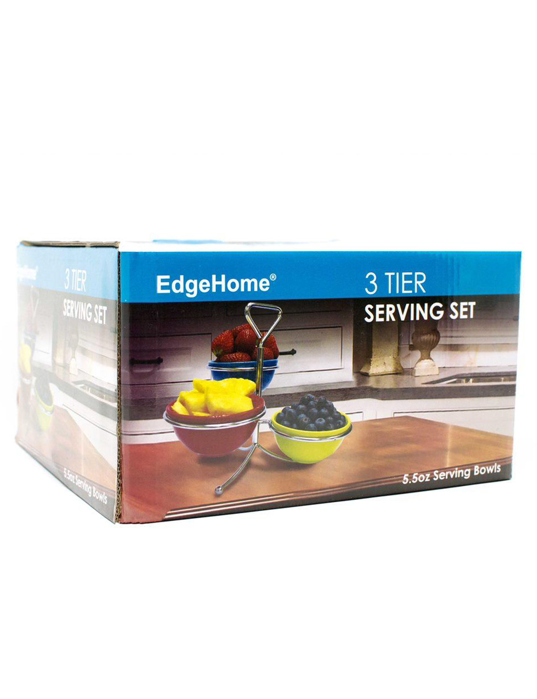 Edge Home Silver Cake Stands & Tiered Servers Serveware