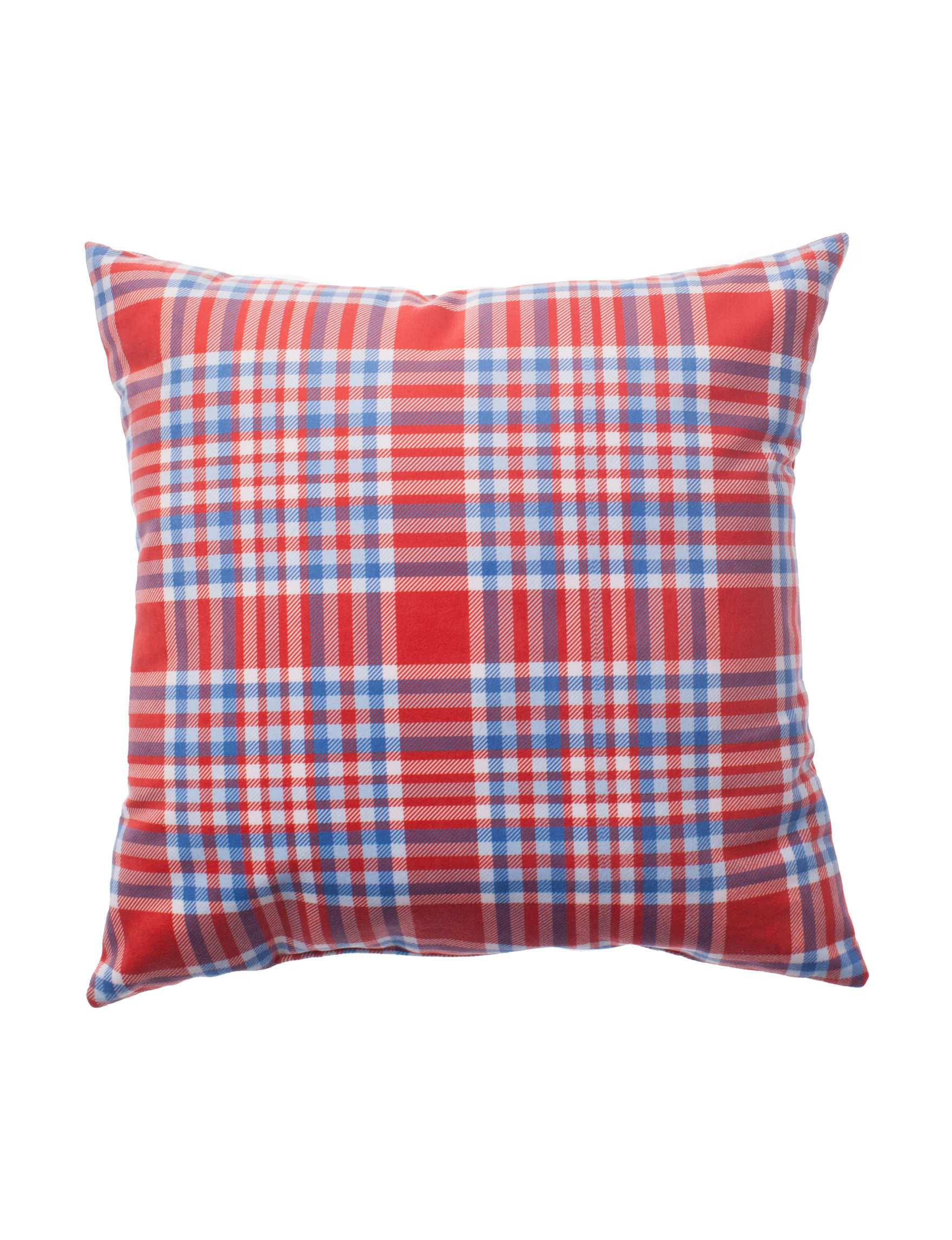 Home Fashions International Blue / White / Red Decorative Pillows