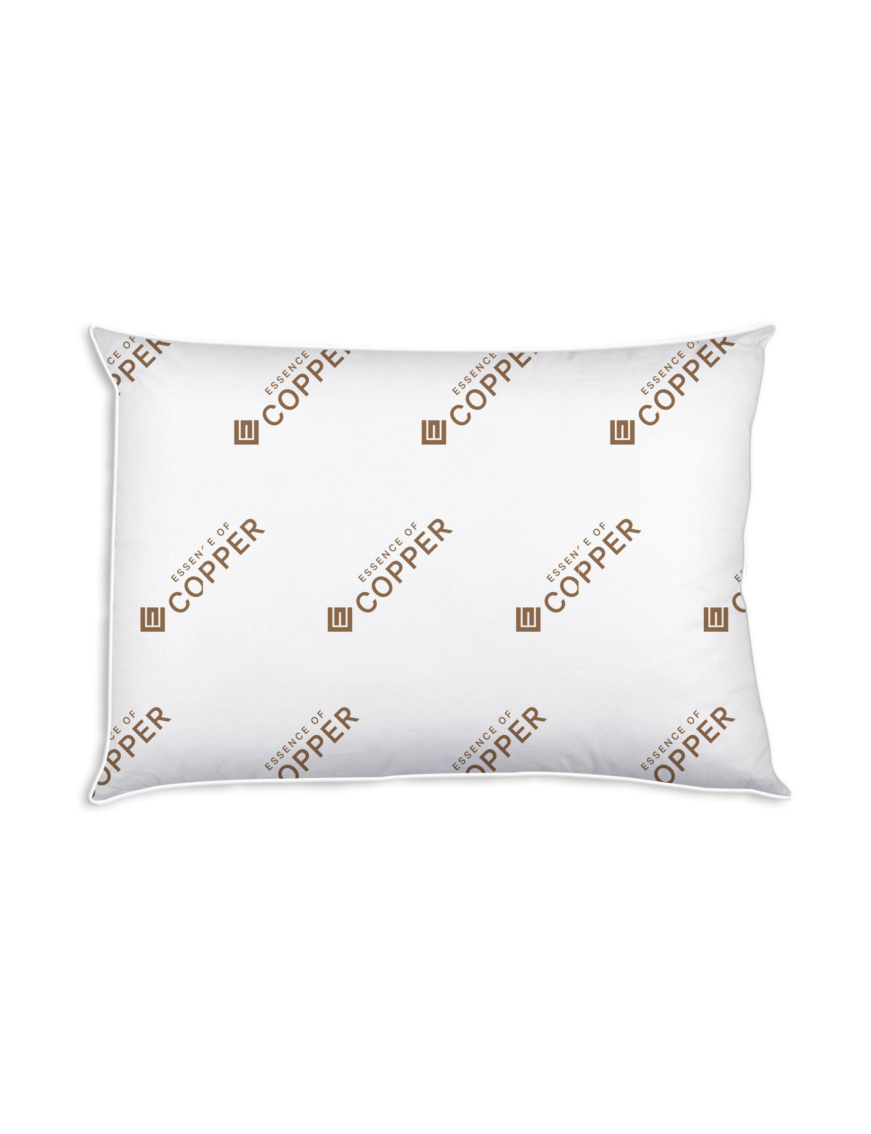 Essence of Copper White Bed Pillows