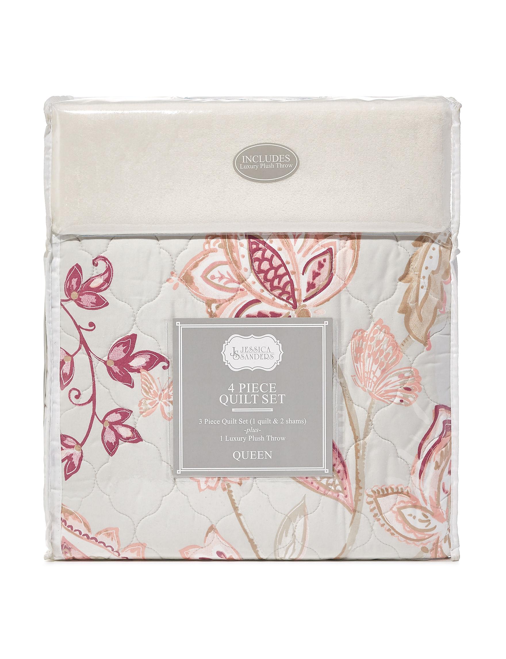 Jessica Sanders Pink Quilts & Quilt Sets