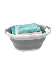 Lavish Home Grey Laundry Hampers Storage & Organization
