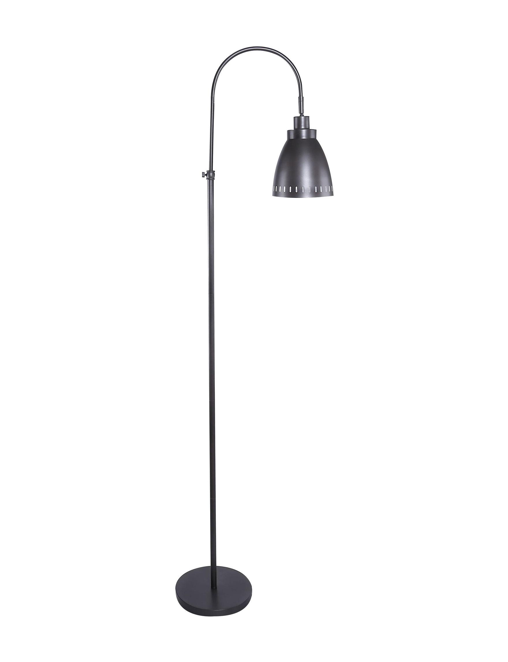 Grandview Gallery Black Floor Lamps Lighting & Lamps