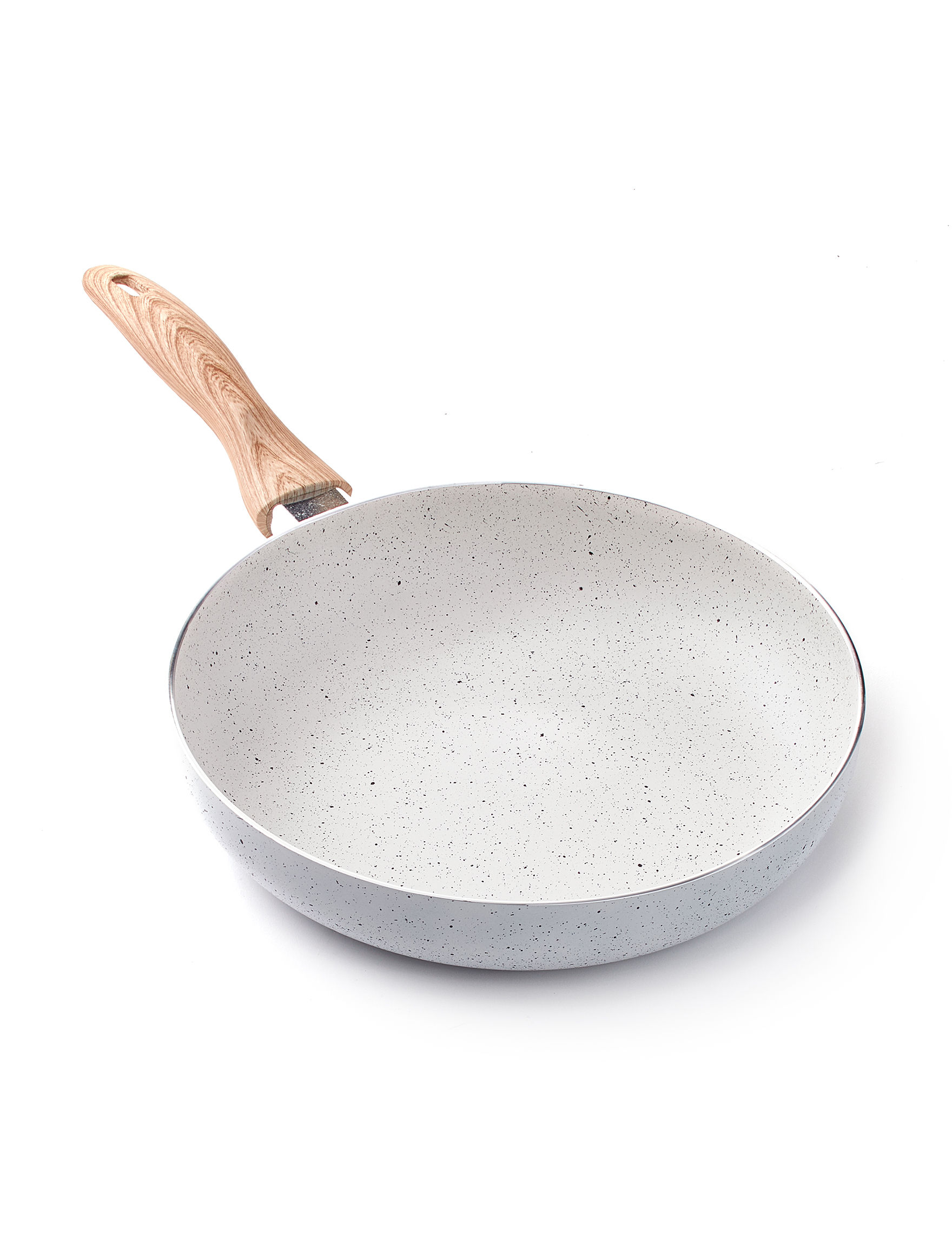 Country Kitchen White Frying Pans & Skillets Cookware