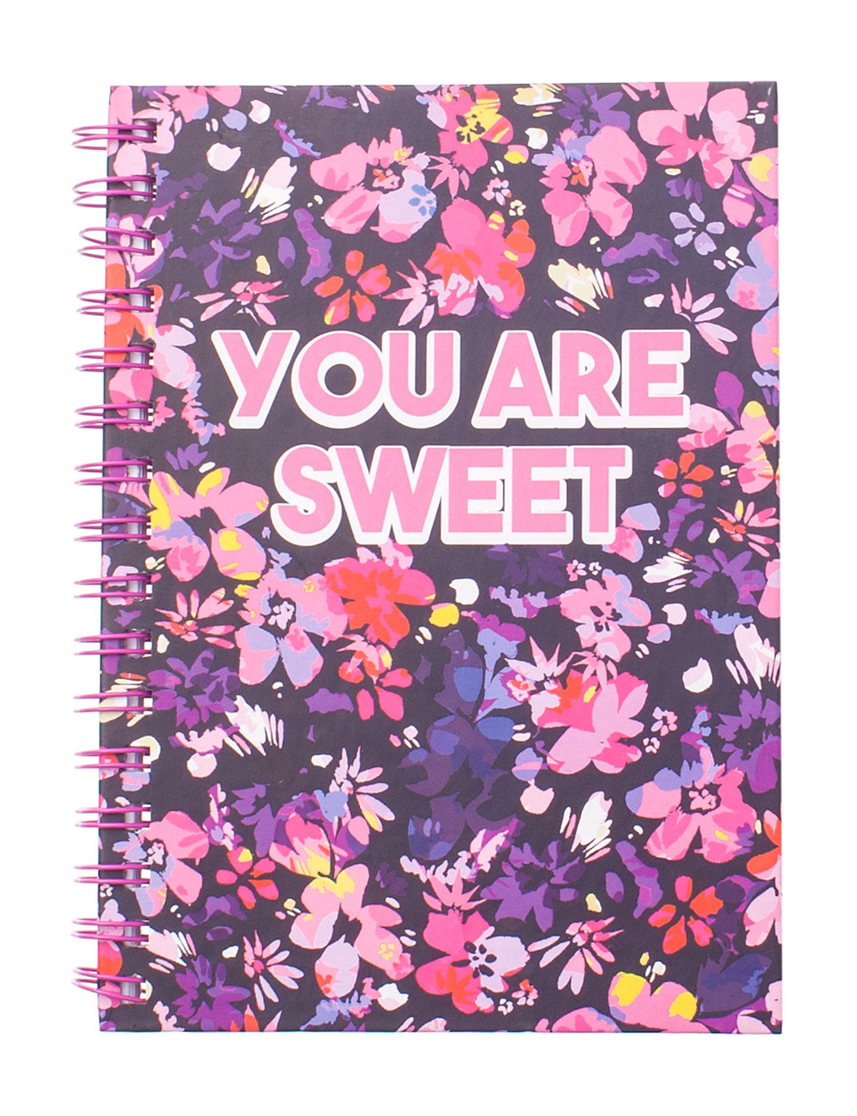 Tri Coastal Pink / Purple Journals & Notepads School & Office Supplies