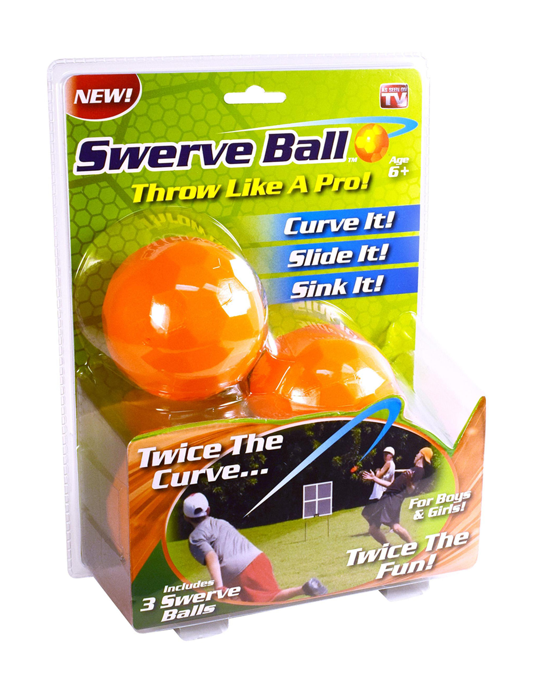 As Seen on TV Orange Outdoor Toys & Lawn Games