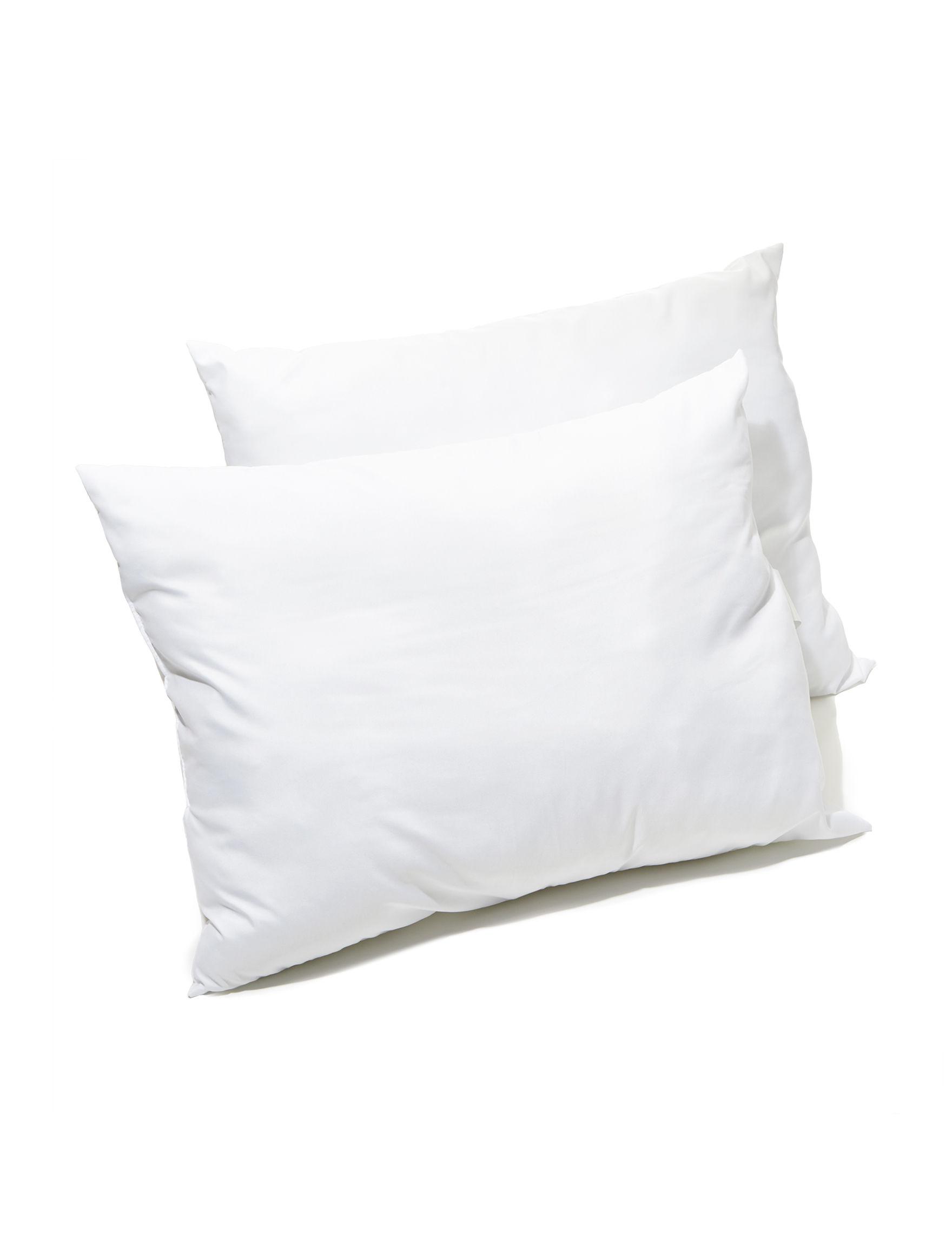 Palm Beach White Bed Pillows