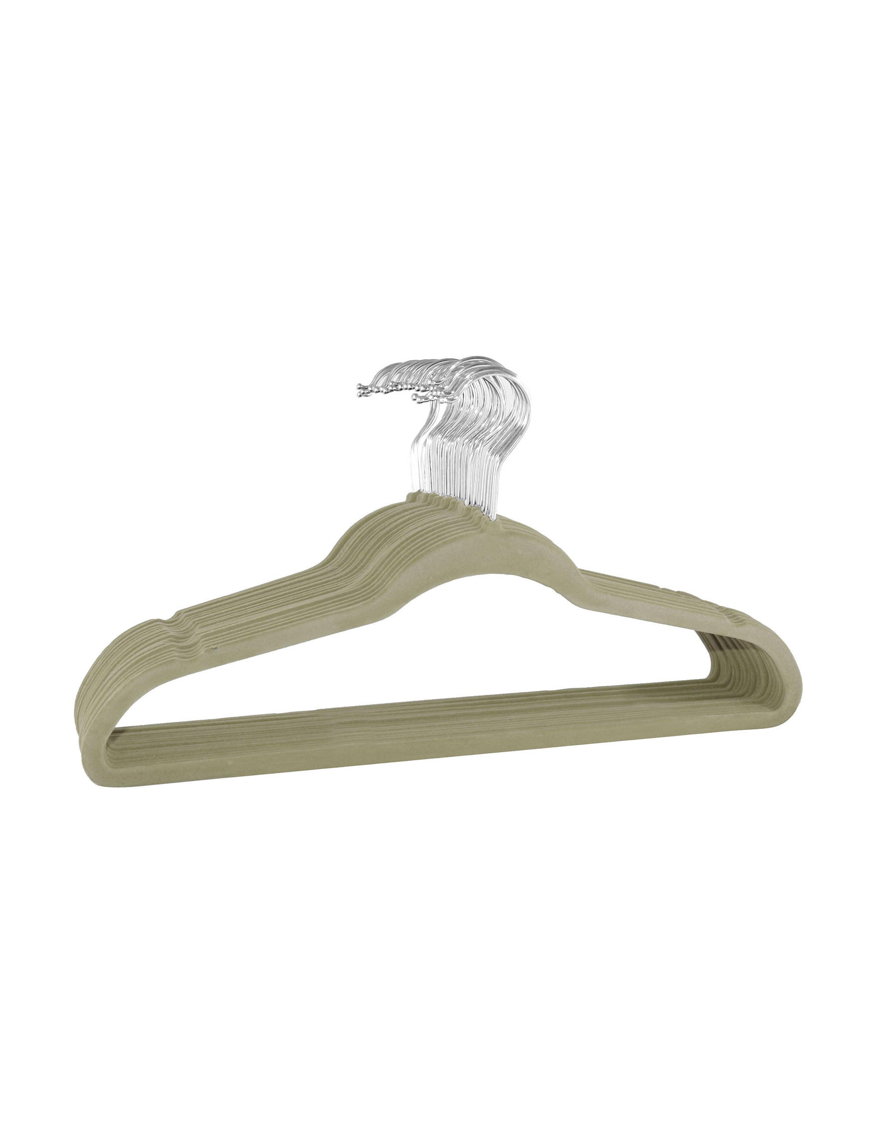 Gourmet Home Beige Hangers Irons & Clothing Care