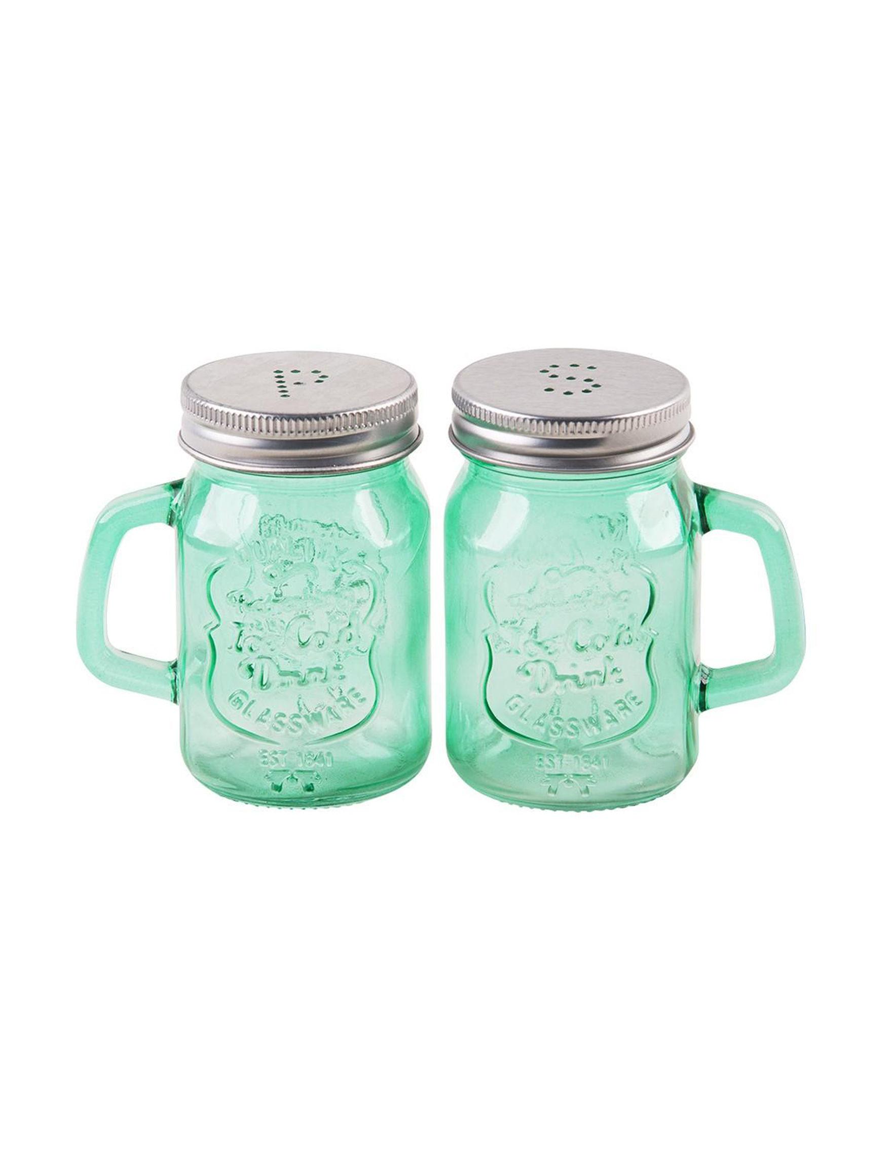 Home Essentials Green Salt & Pepper Shakers Serveware