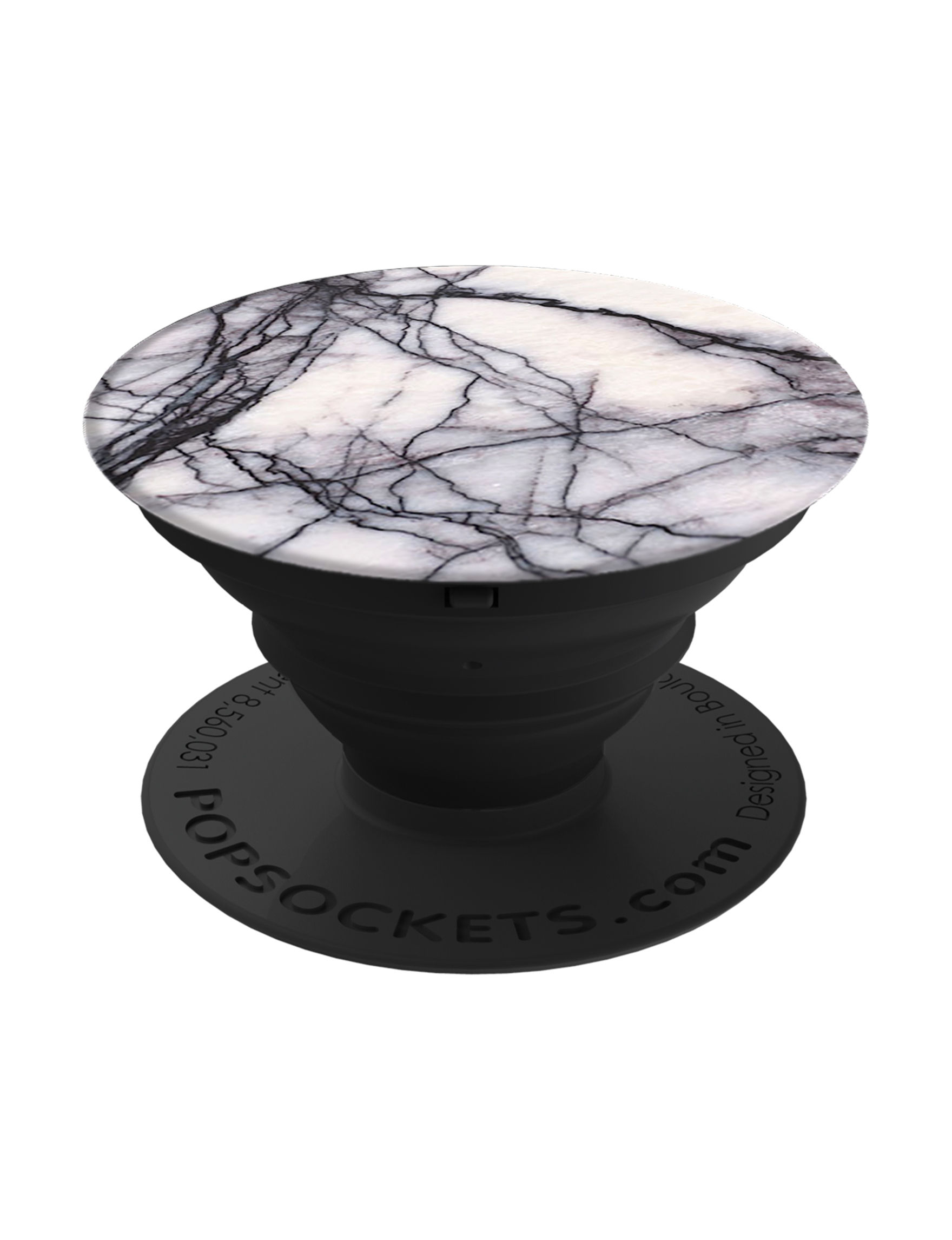Popsockets Black / White Mounts & Stands Tech Accessories