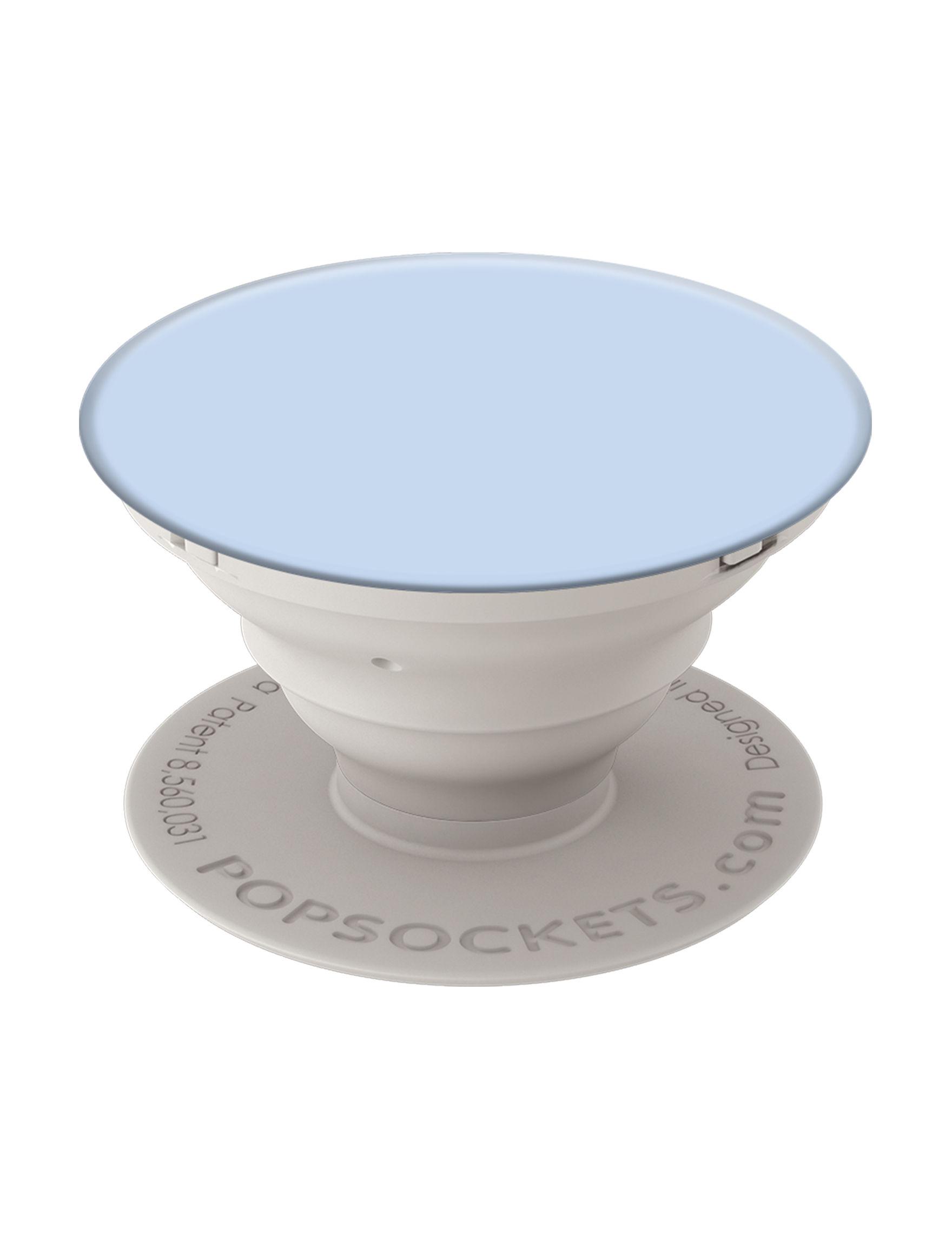 Popsockets Light Blue Mounts & Stands Tech Accessories