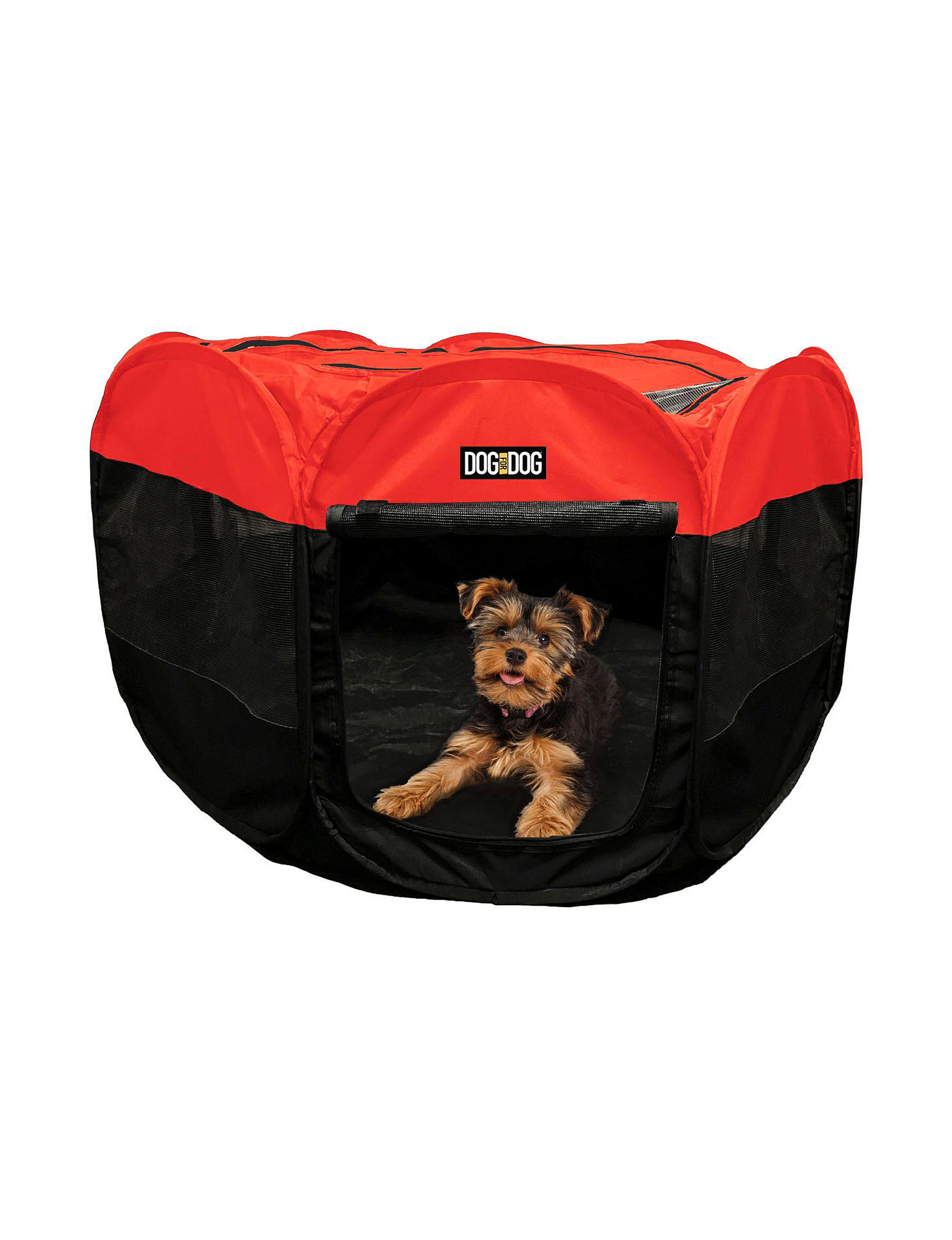 RBX Red / Black Pet Beds & Houses