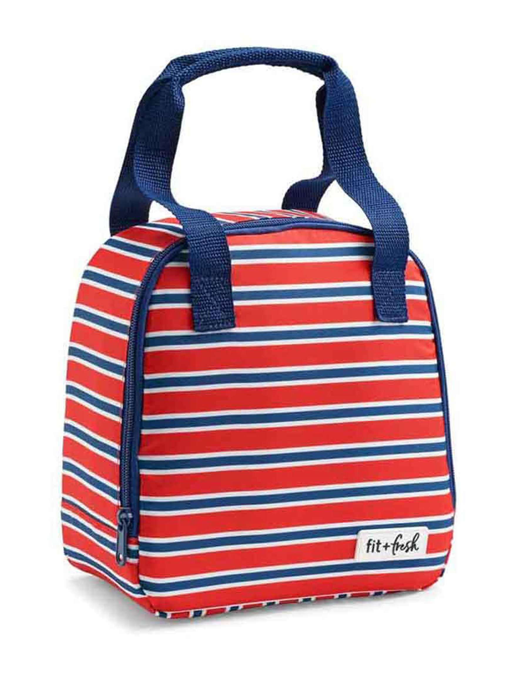 Fit & Fresh Blue / Red Lunch Boxes & Bags Kitchen Storage & Organization