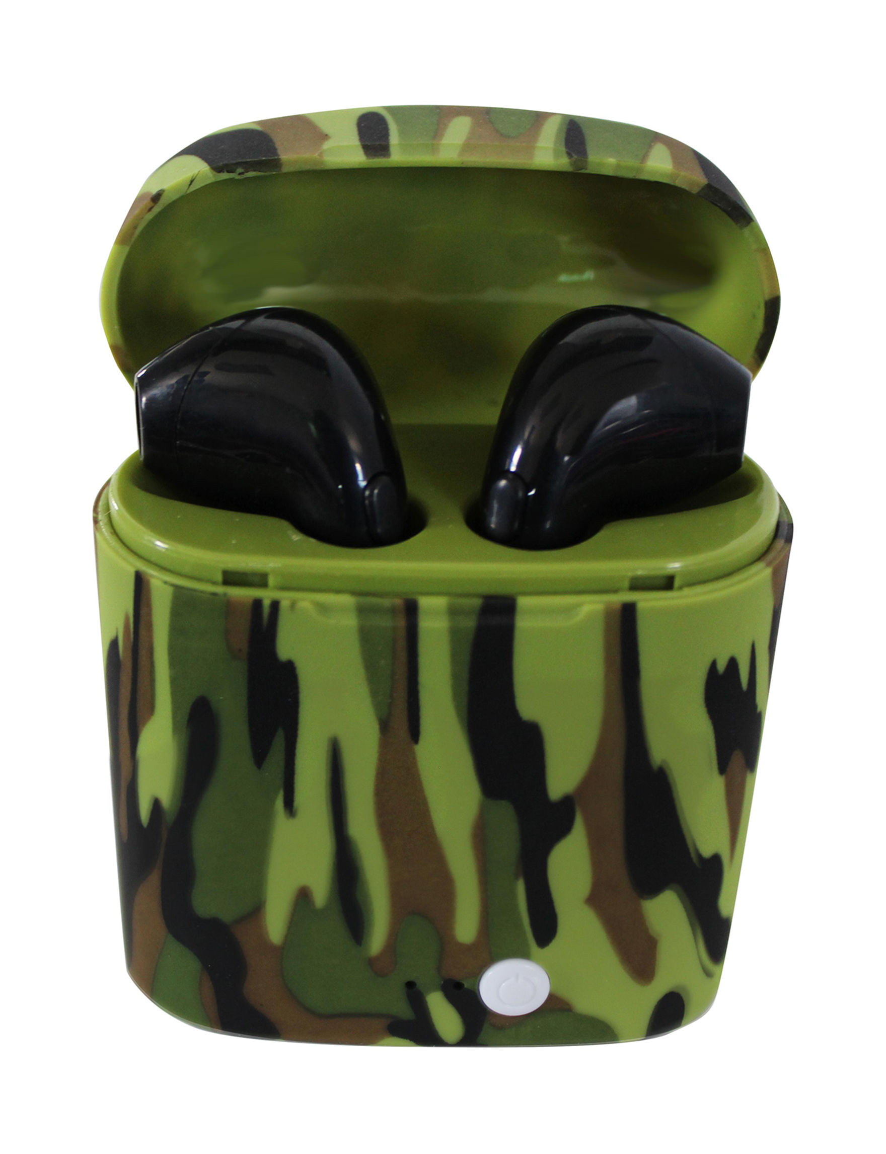 Xtreme Time Green Headphones Tech Accessories