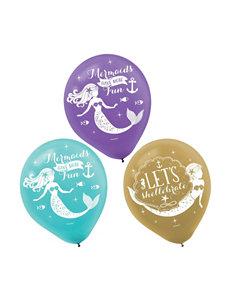 Amscan Blue Multi Balloons Party Decor
