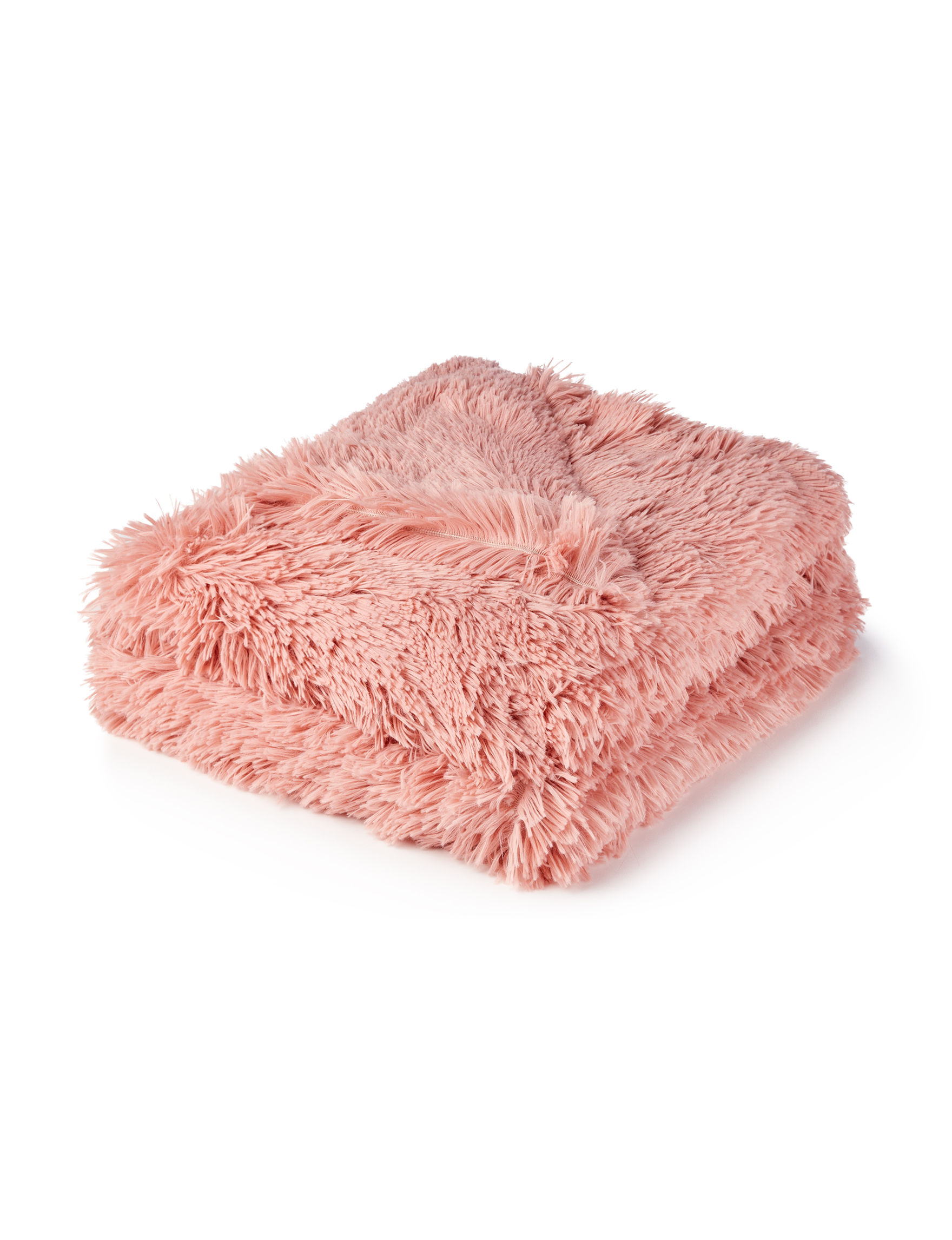 Dream Home NY Blush Blankets & Throws