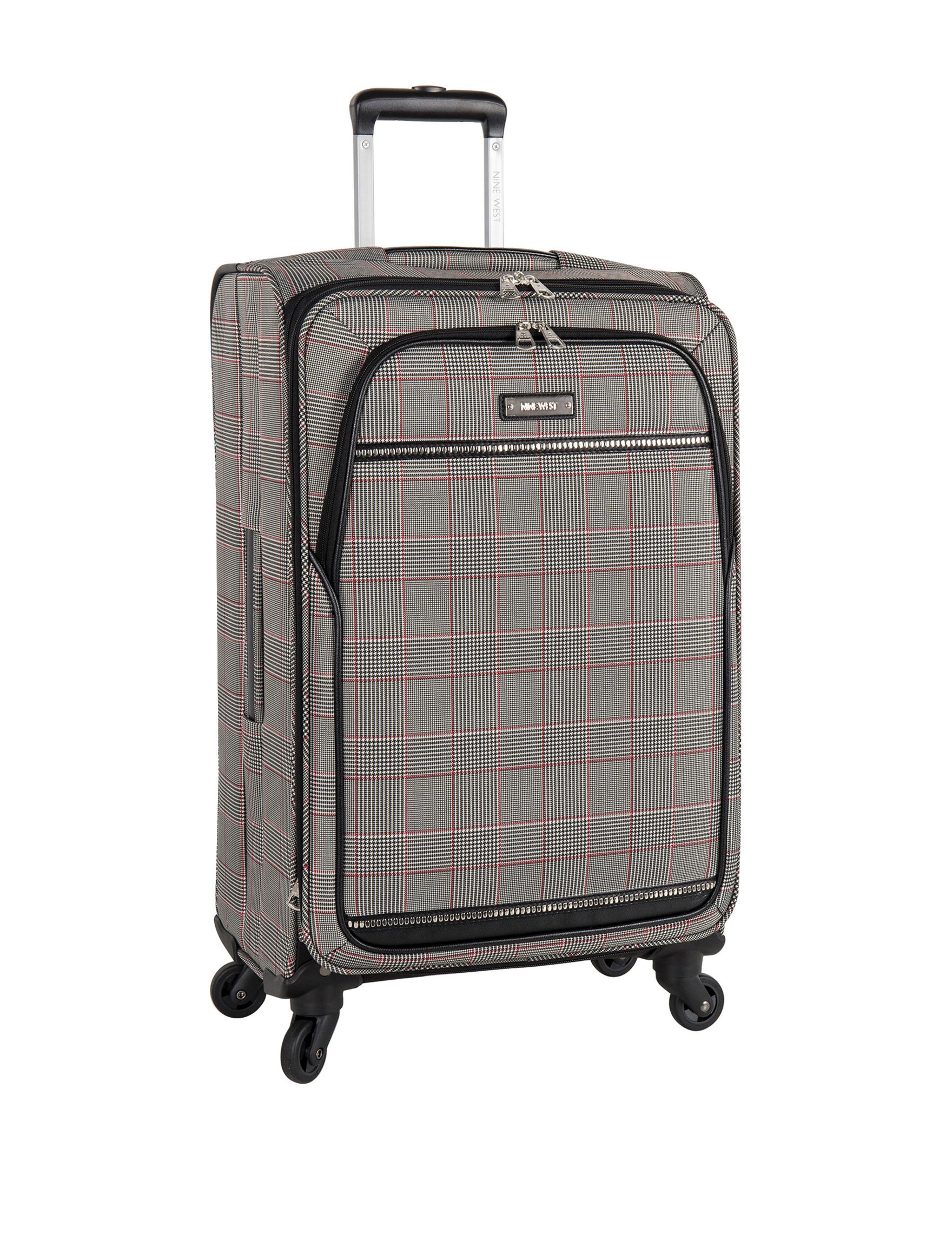 1e0ee342b Nine West Girls Trip Plaid Upright Spinner Luggage | Stage Stores