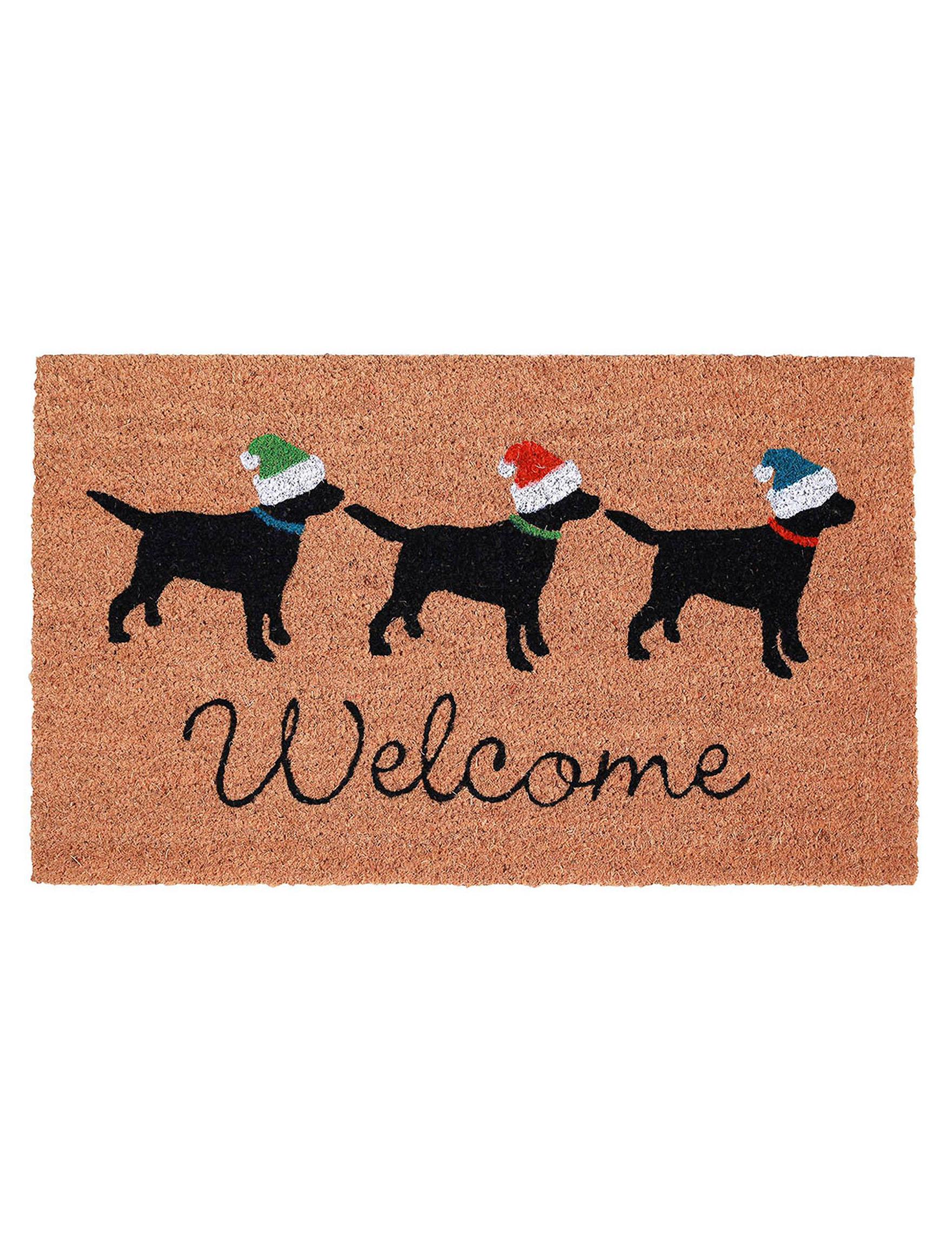 Trans Ocean Brown Outdoor Rugs & Doormats Outdoor Decor Rugs