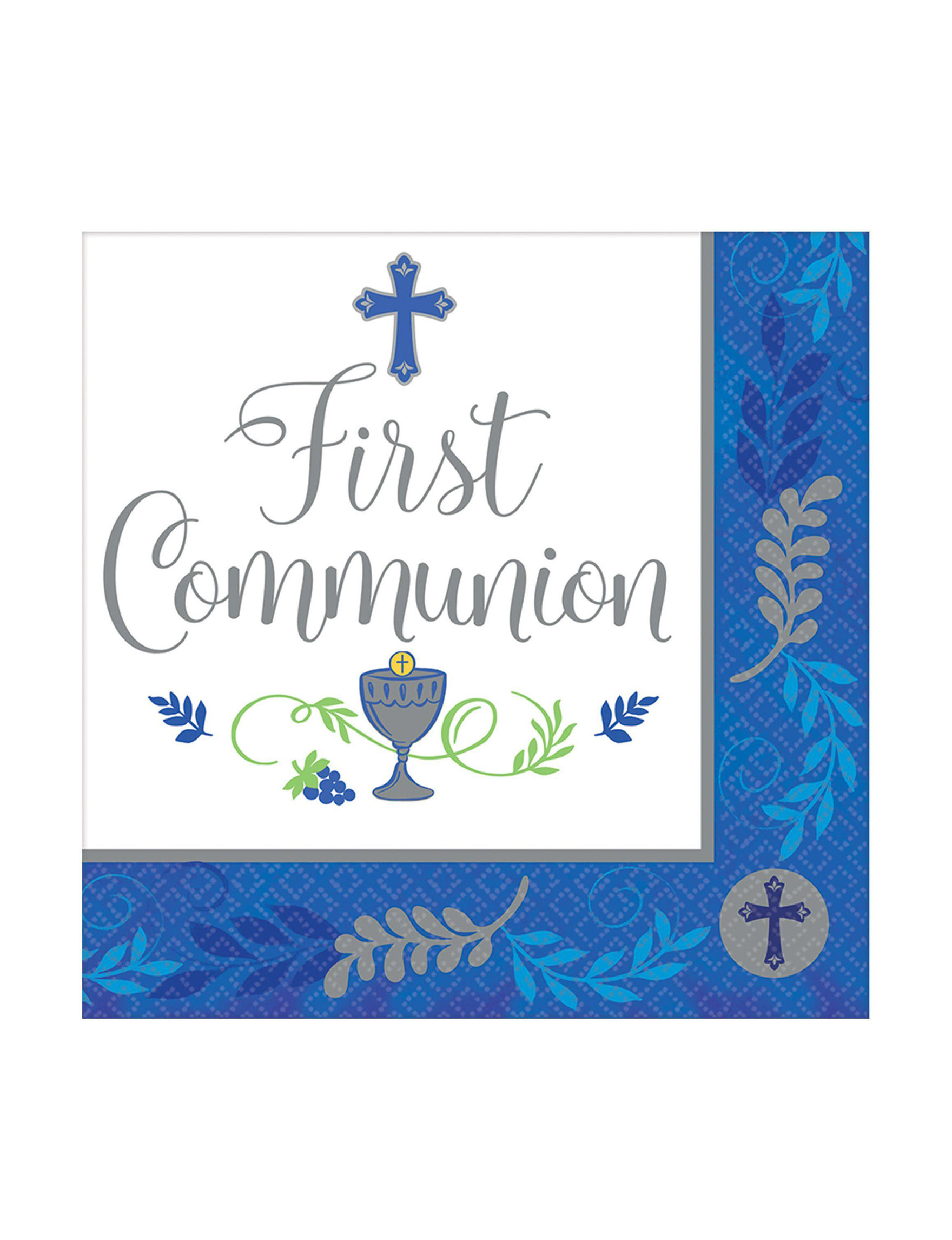 Amscan 108 Pk First Communion Day Lunch Napkins Stage