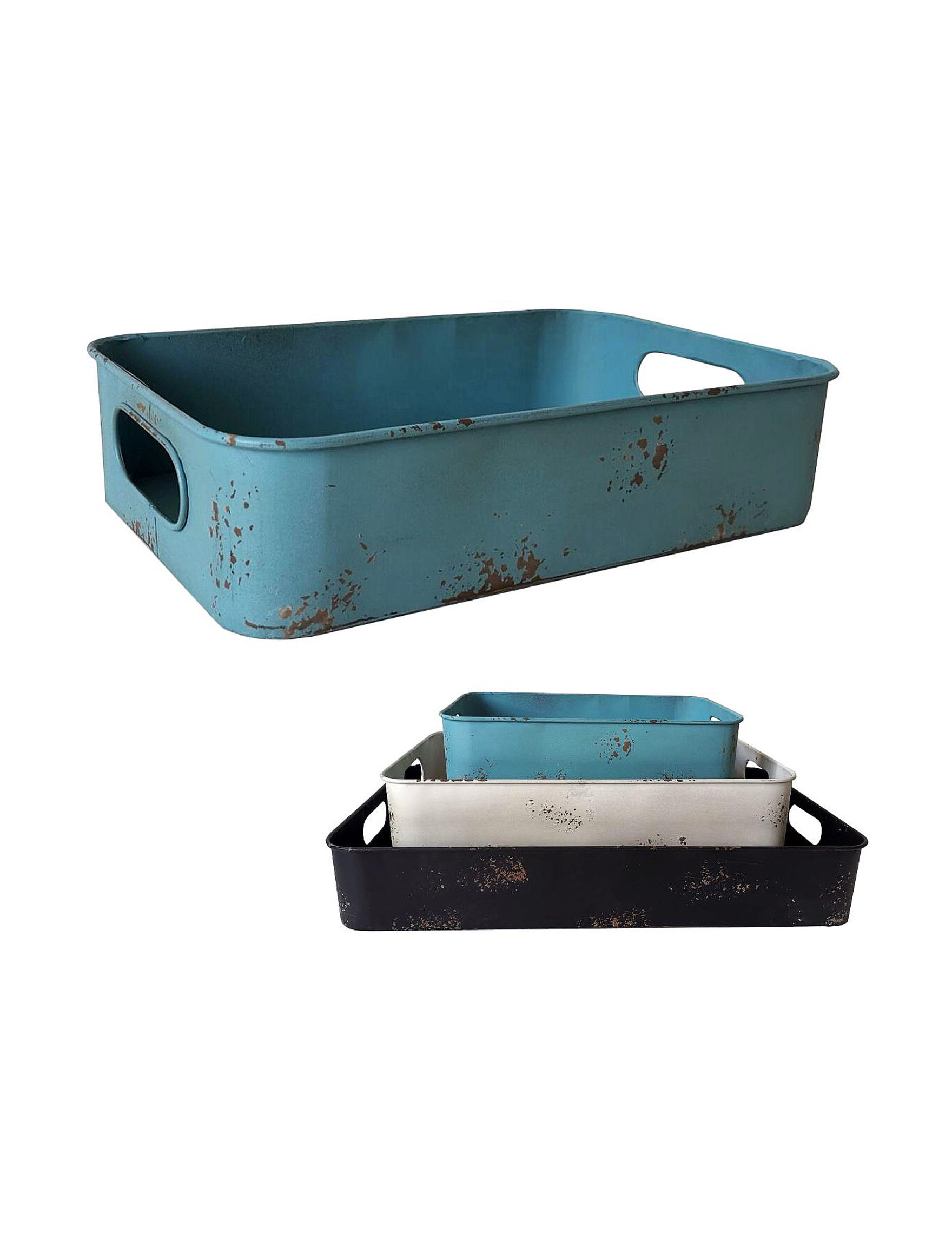 Fancy That Gift Aqua Multi Decorative Objects Home Accents