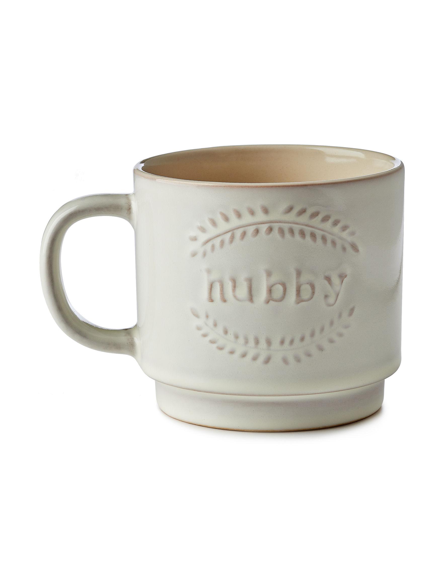 Enchante Beige Mugs Drinkware