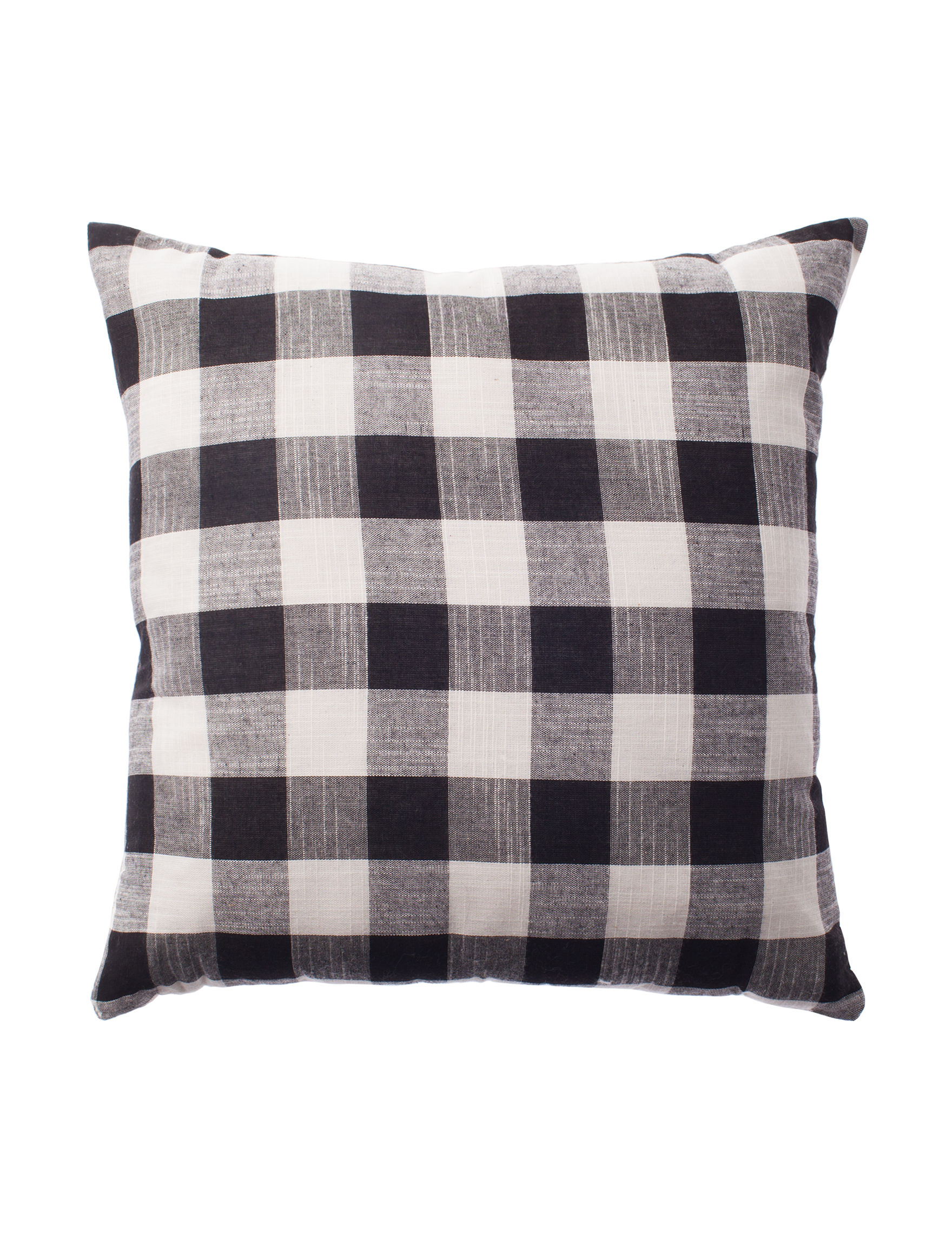 Deco Black / White Decorative Pillows