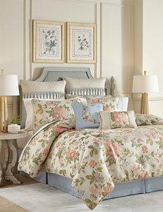 Croscill Beige Floral Comforters & Comforter Sets