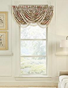 Croscill Beige Floral Window Treatments