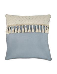 Croscill Beige / Blue Decorative Pillows