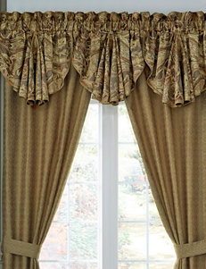 Croscill Gold / Multi Curtains & Drapes Window Treatments
