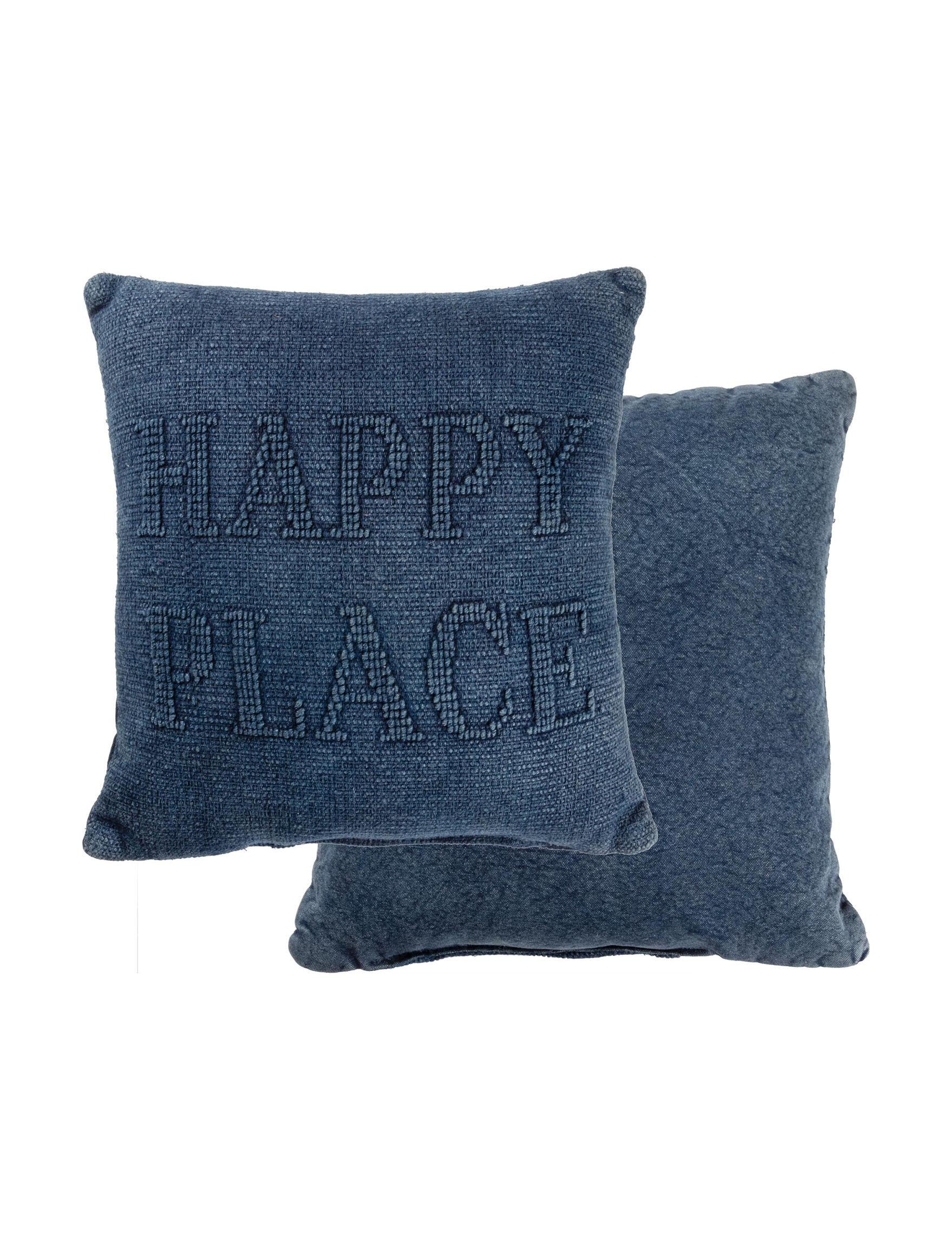 Primitives by Kathy Blue Decorative Pillows