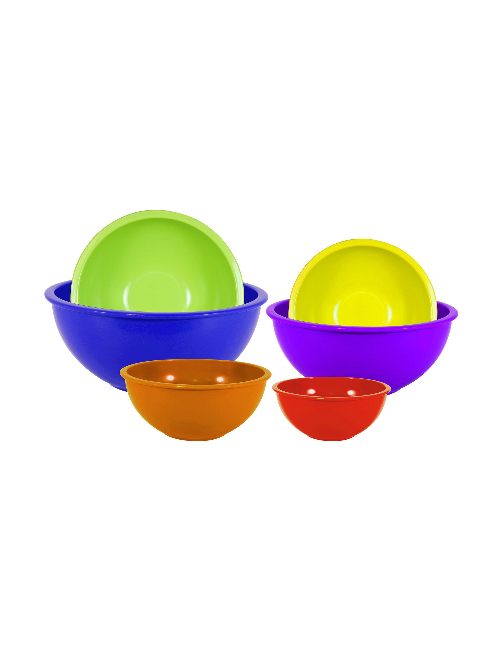 Gourmet Home Blue / Multi Mixing Bowls Cookware
