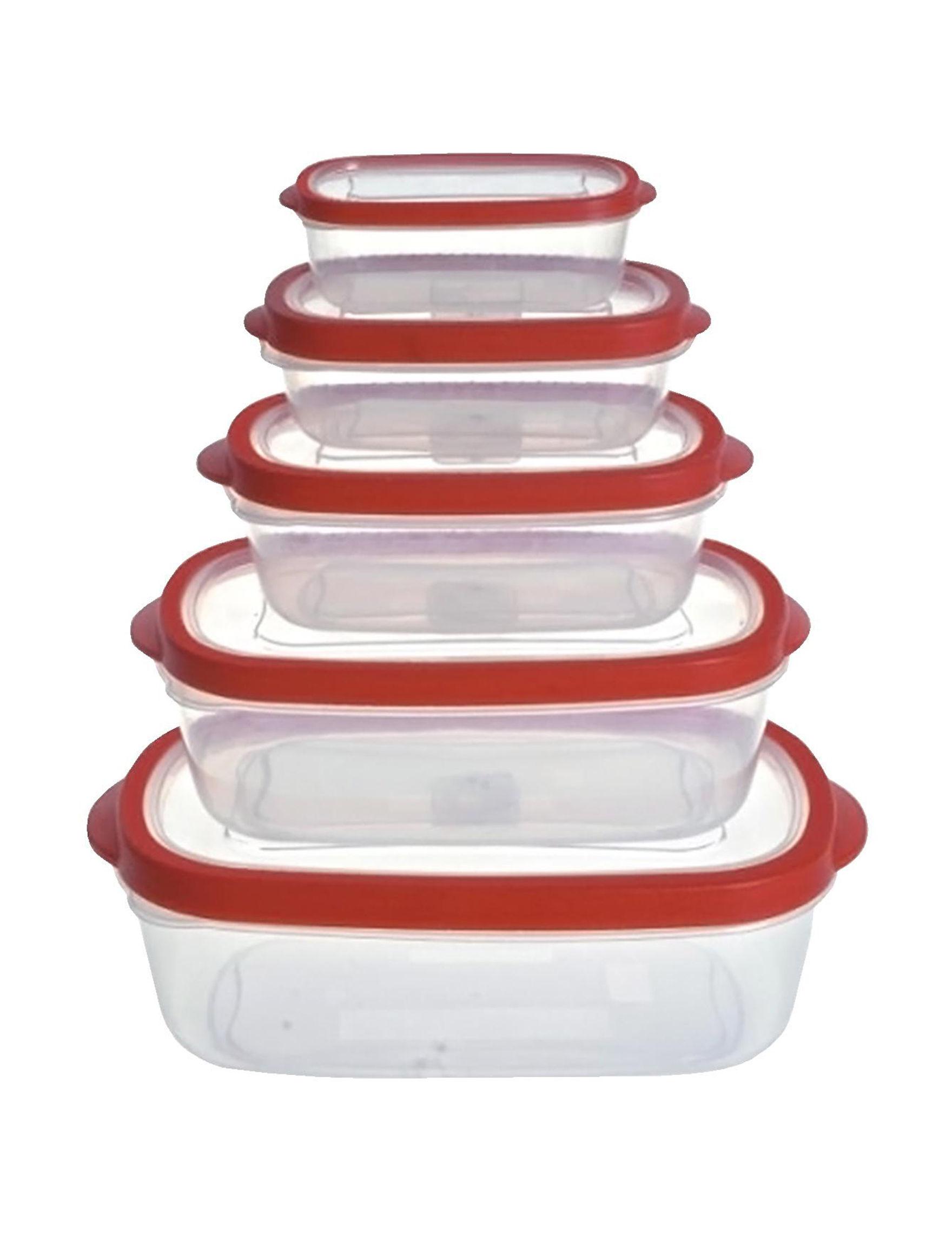 Farberware Red Kitchen Storage & Organization
