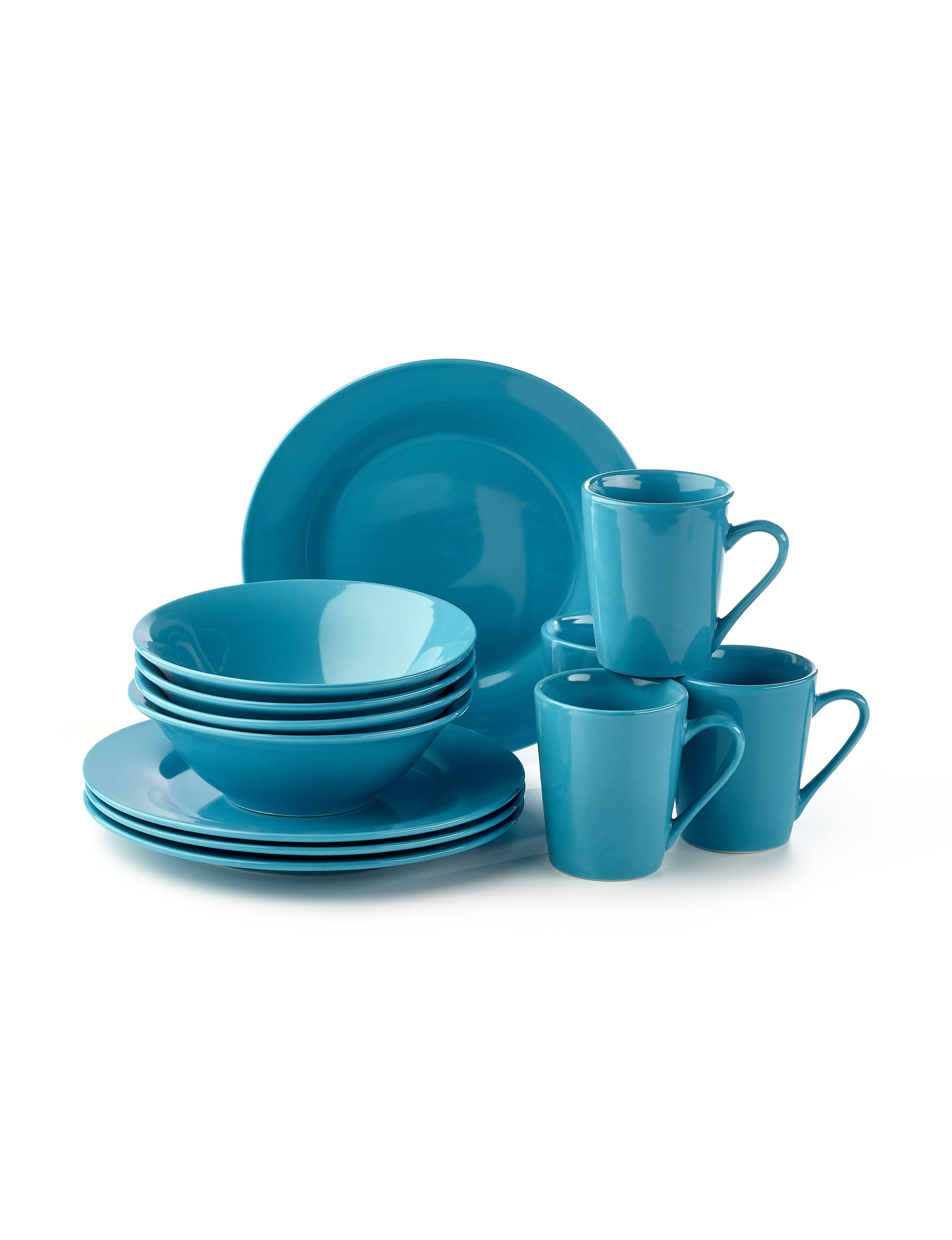 Gibson Blue Dinnerware Sets Dinnerware